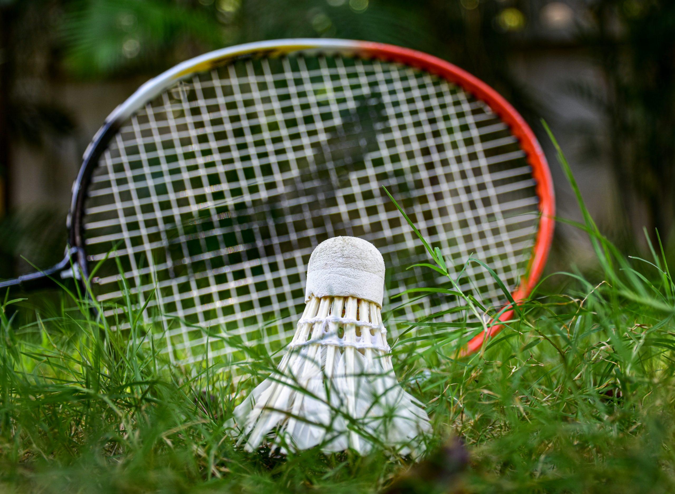 Badminton – Racket and shuttle cock