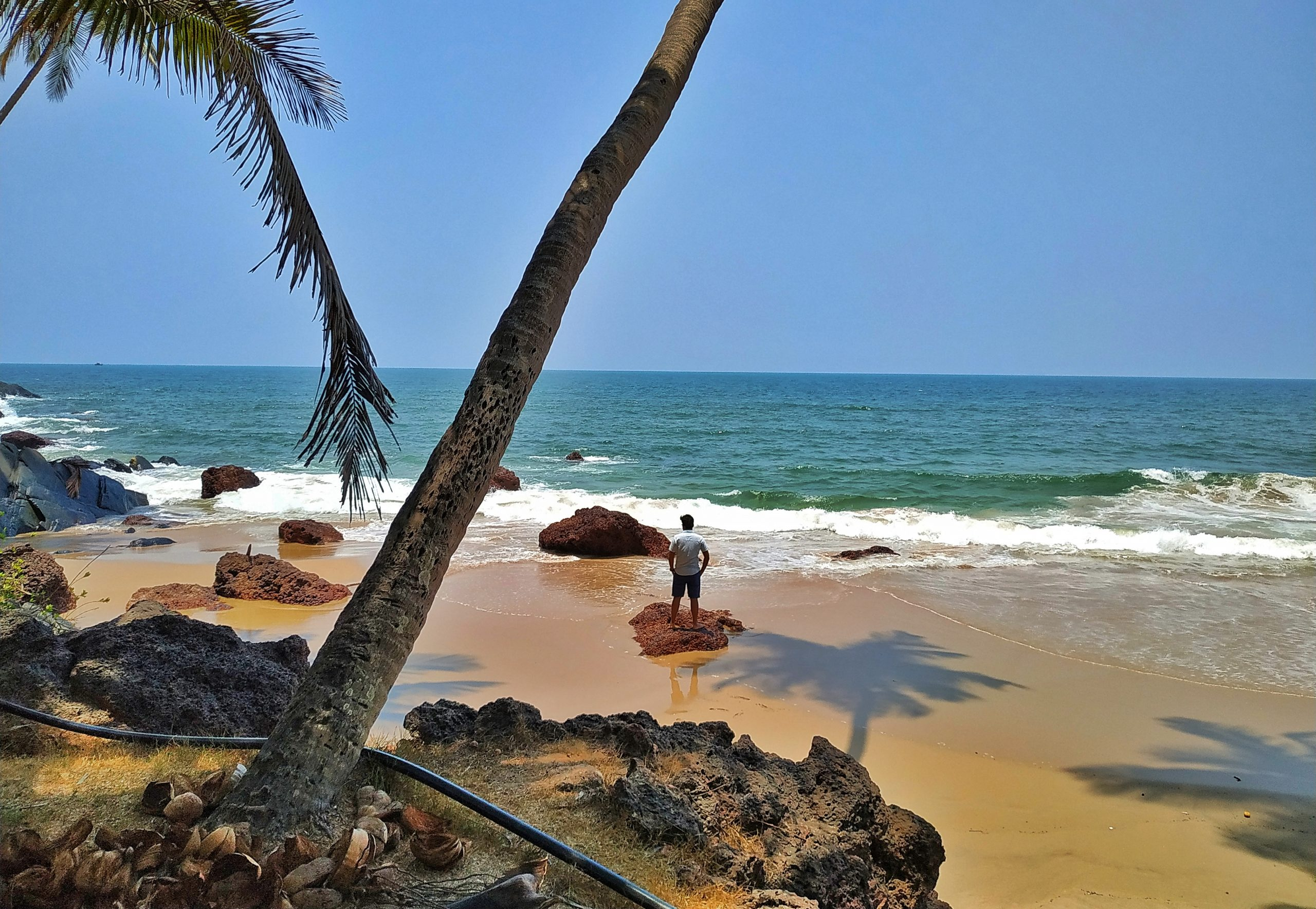 Beach of kokan in Sindhudurg.