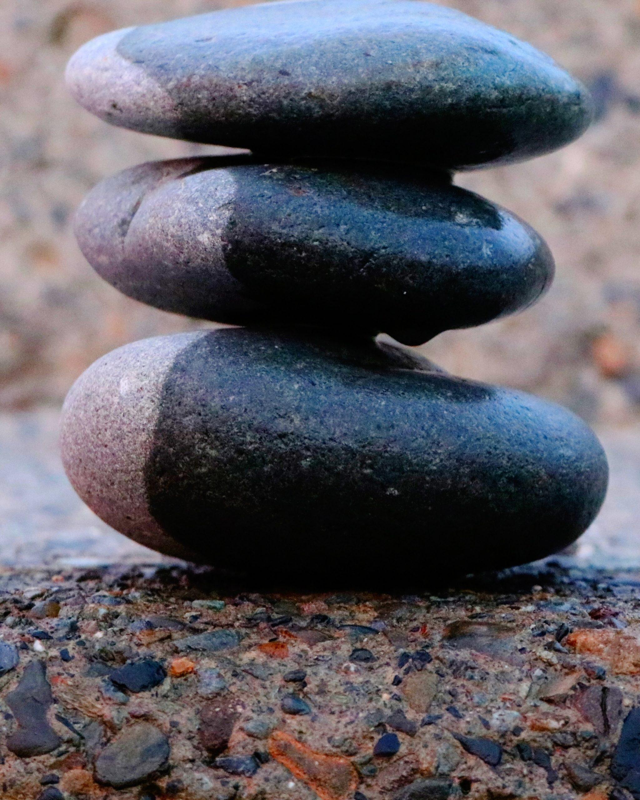 Pebble Stone Balancing