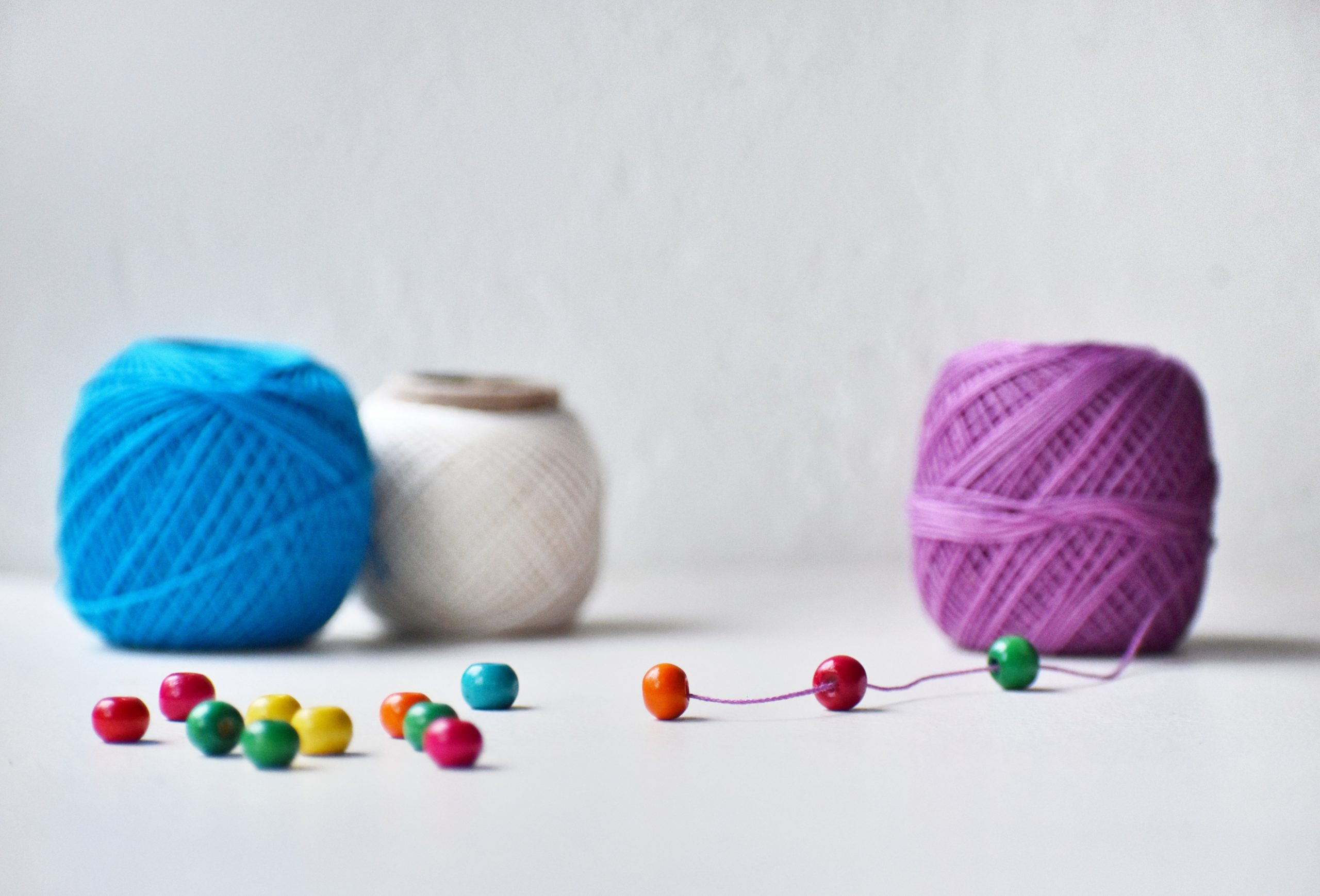 Beads and string
