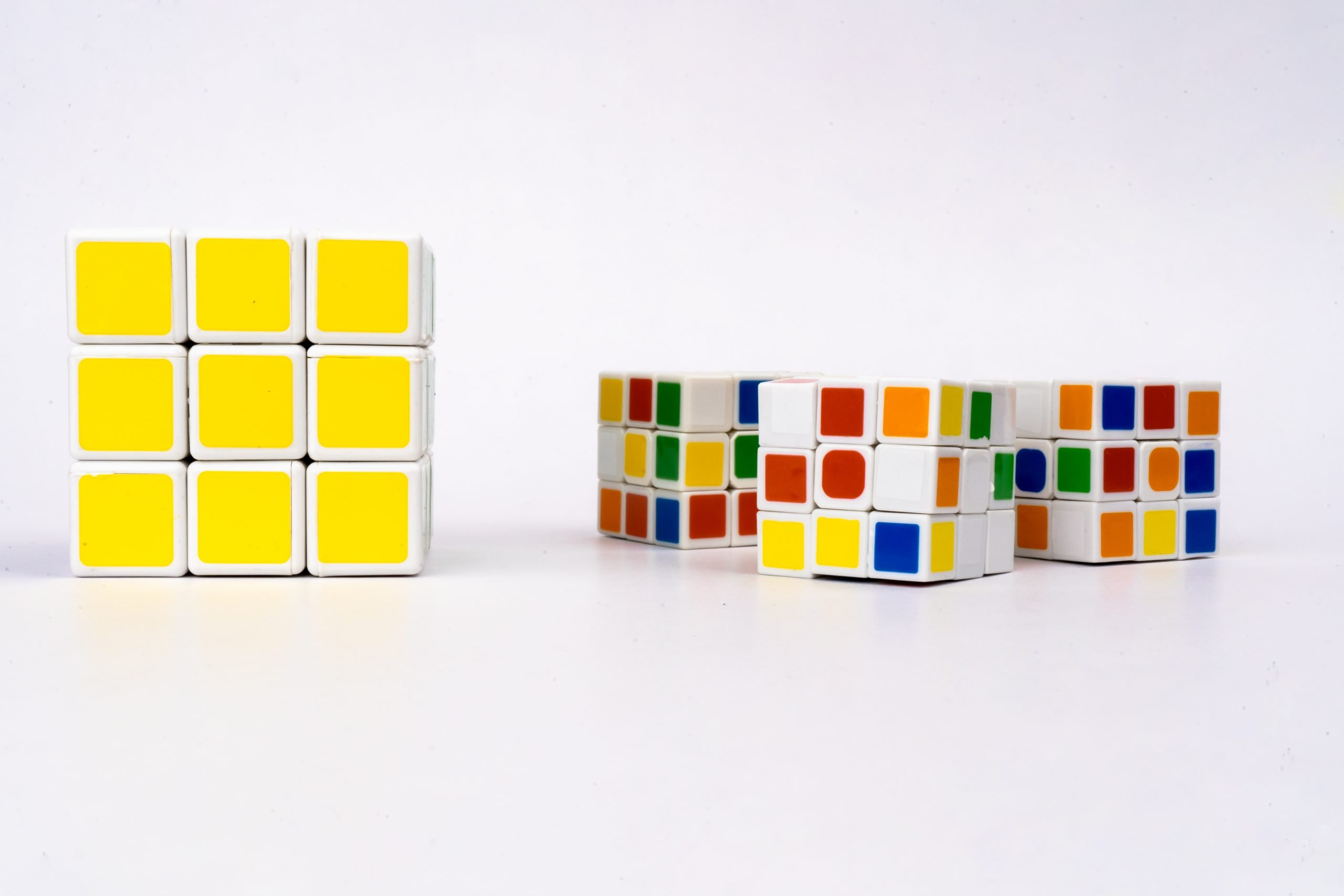 Big and small cubes