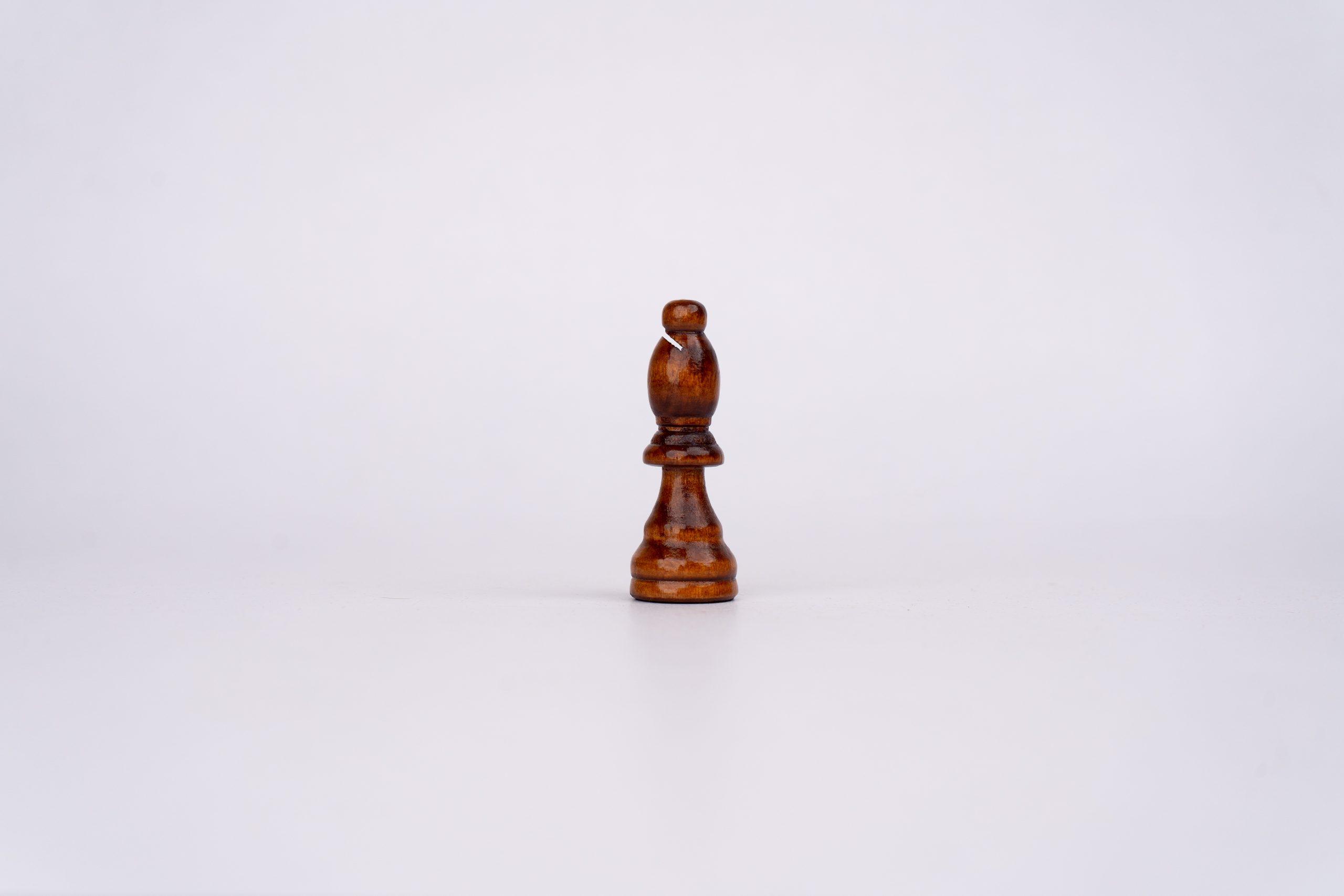 One bishop chess piece