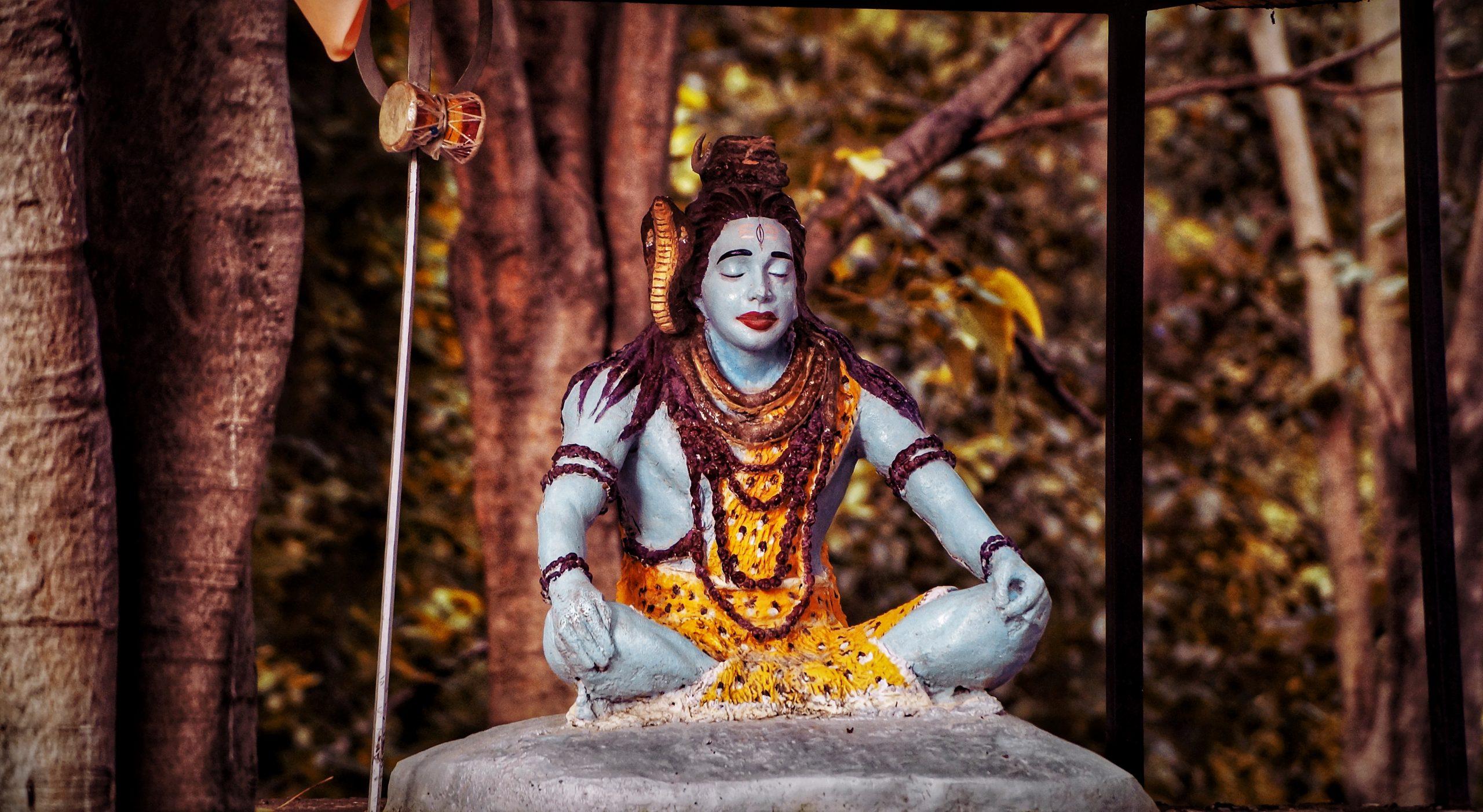 Lord Shiva statue on Focus