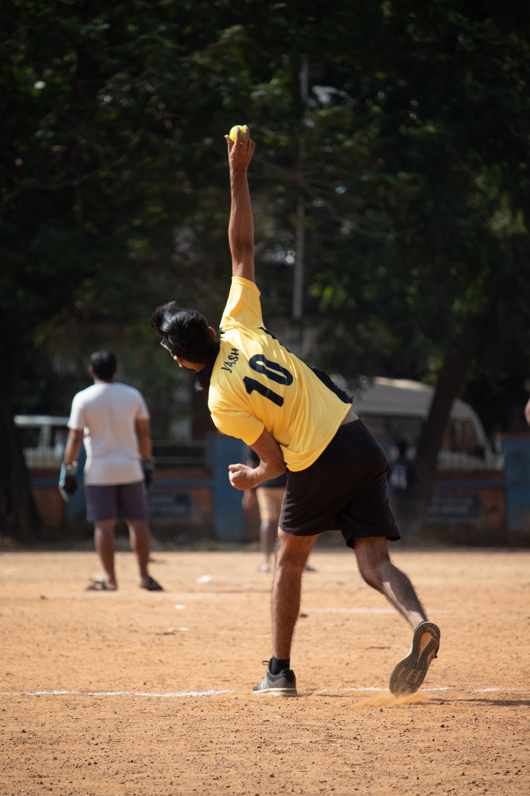 Bowler in Action