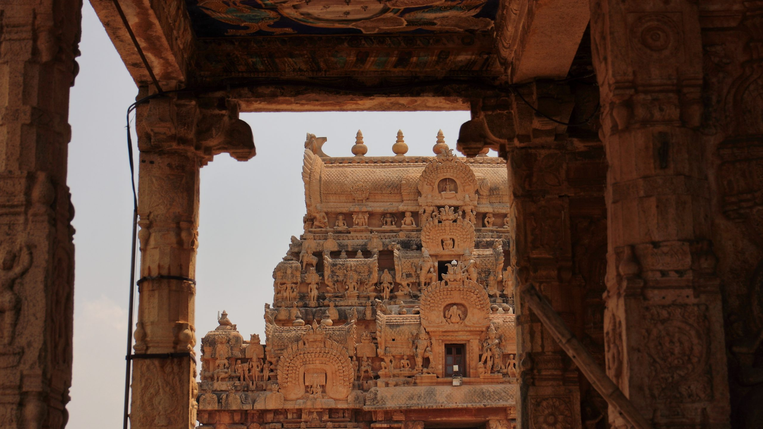 Brihadeeswara Temple in Tanjvur