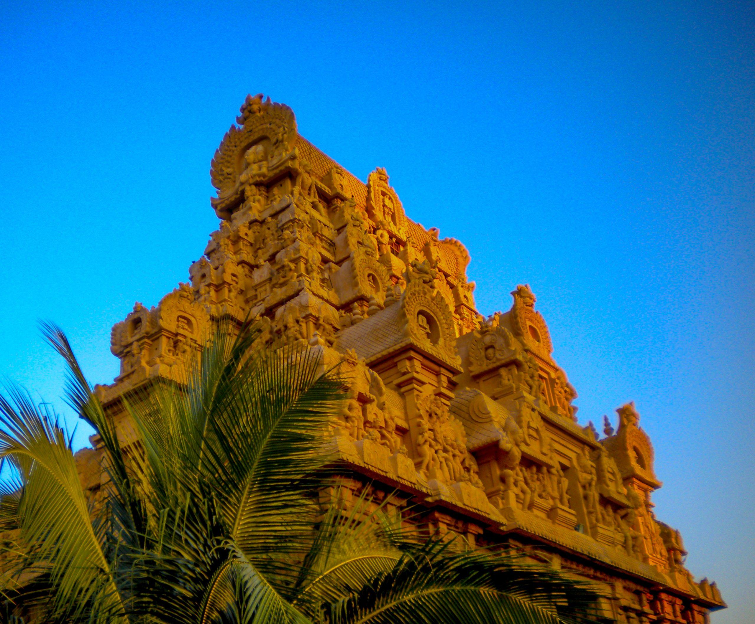 Brihadishvara Temple in Tamil Nadu, India