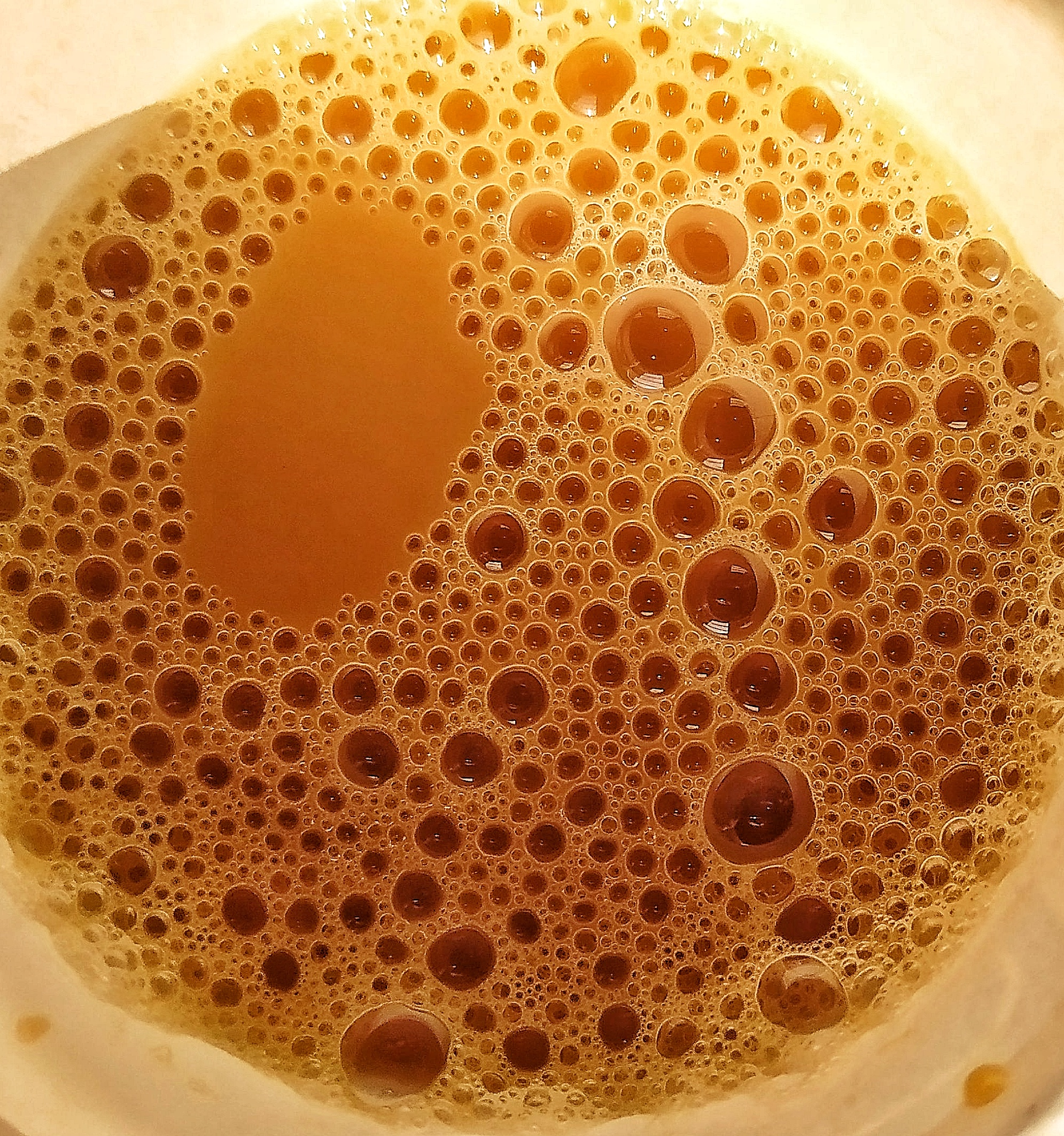 Bubbles in tea
