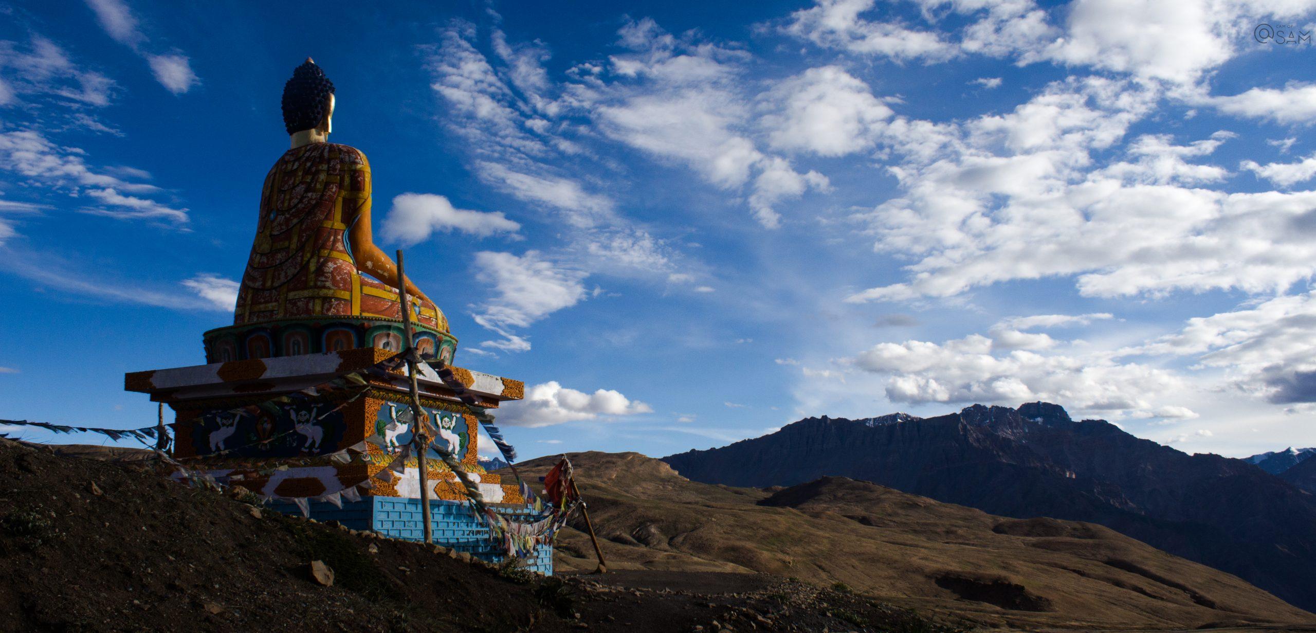 Buddha Statue Langza village Spiti