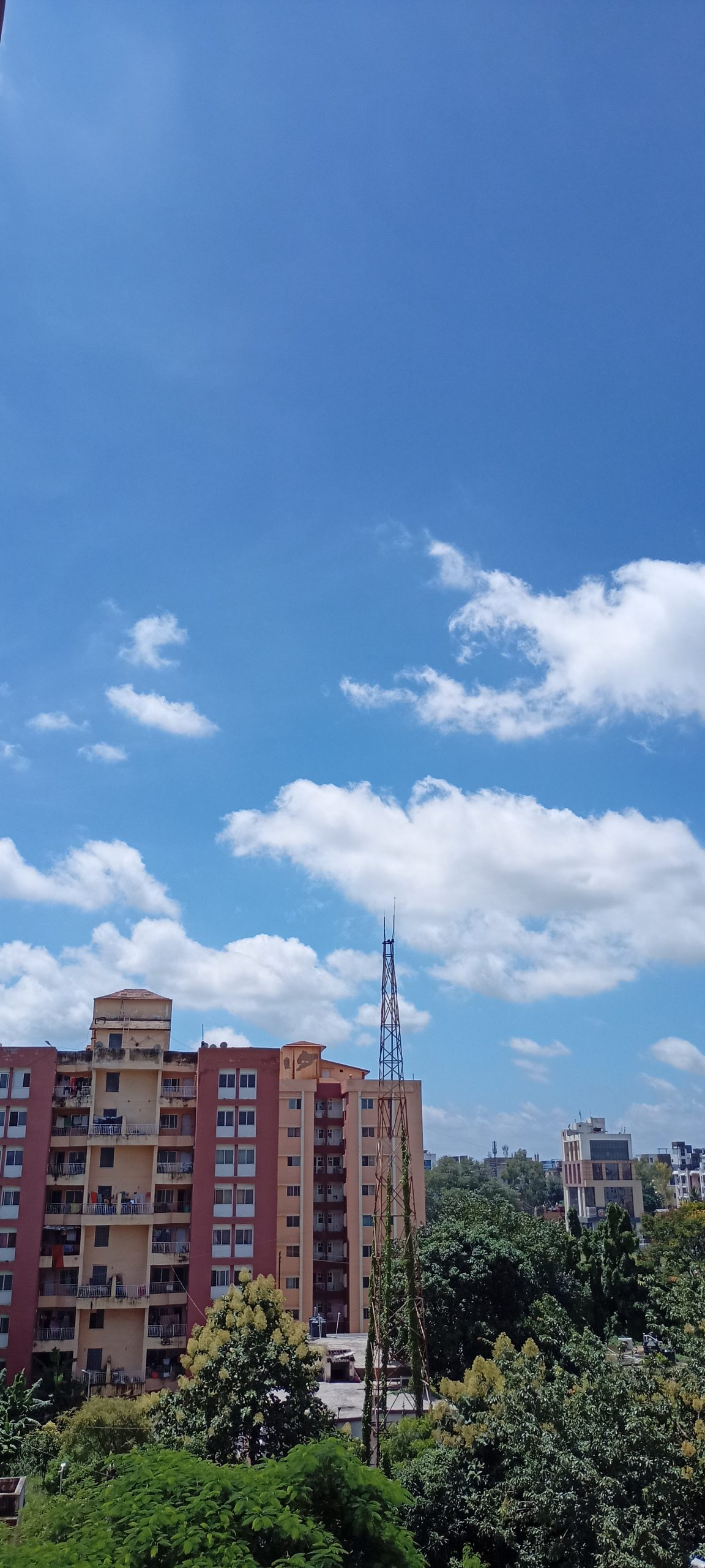 Buildings and the Sky