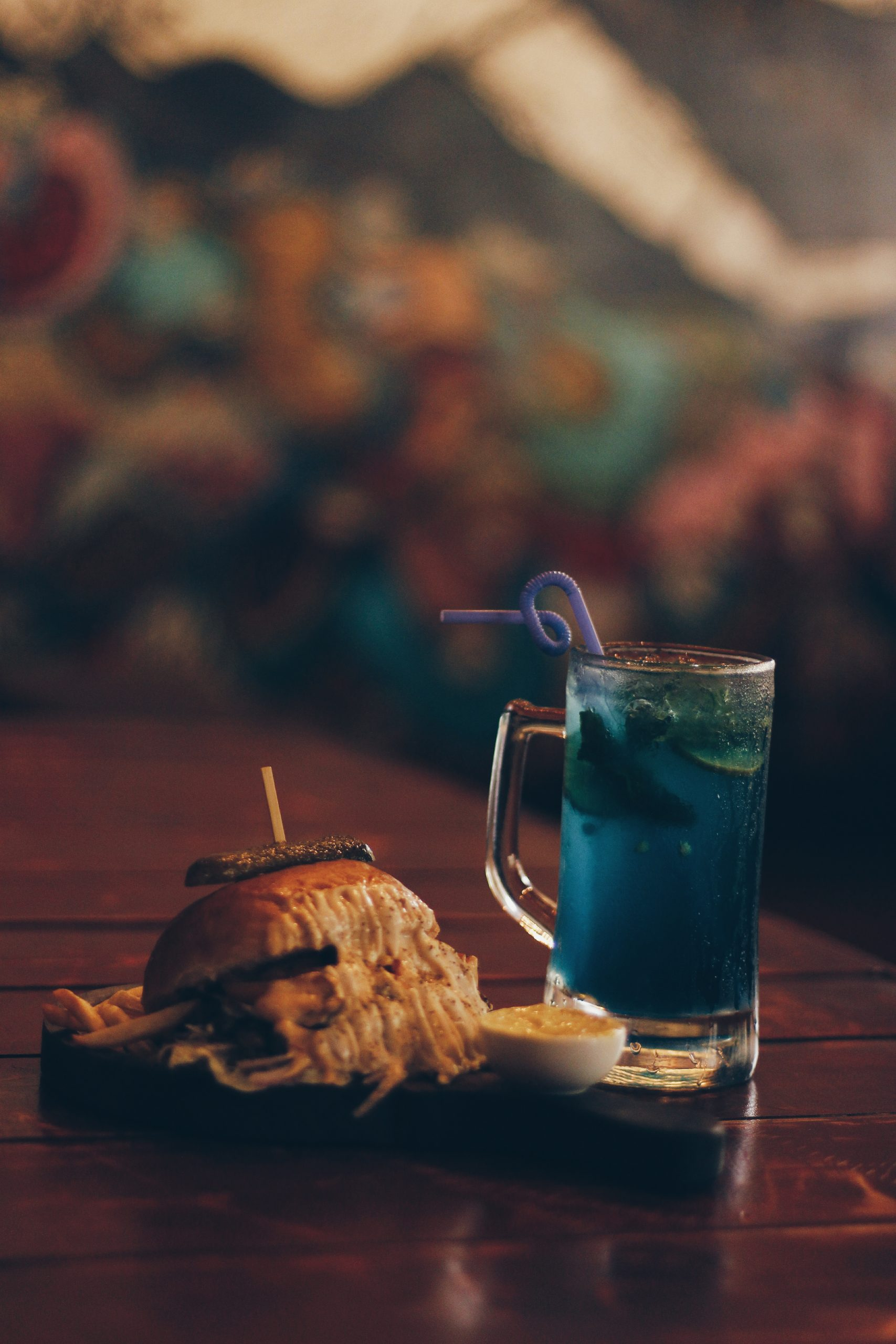 Burger and a Cocktail