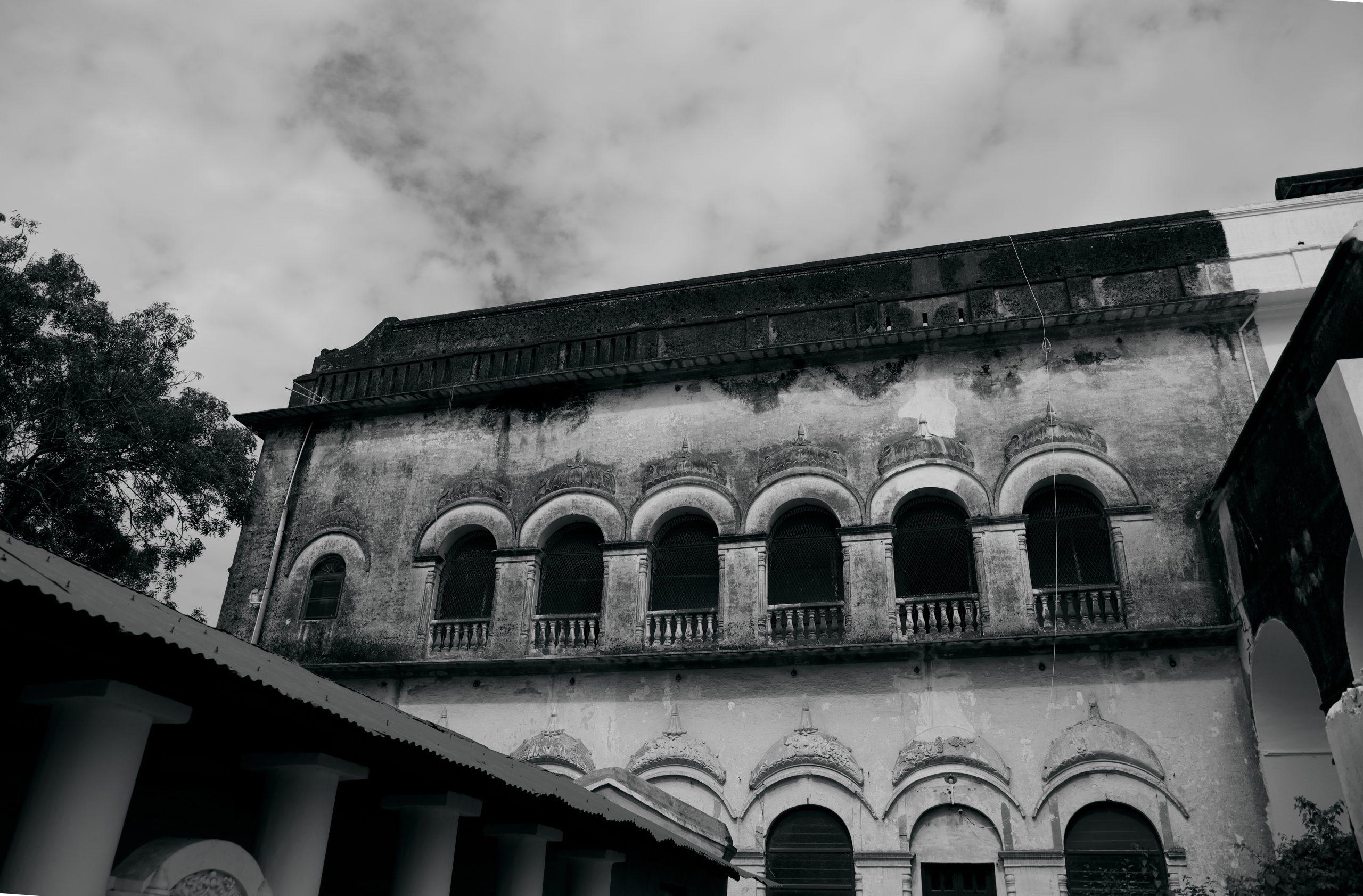 Monochromatic Old Building