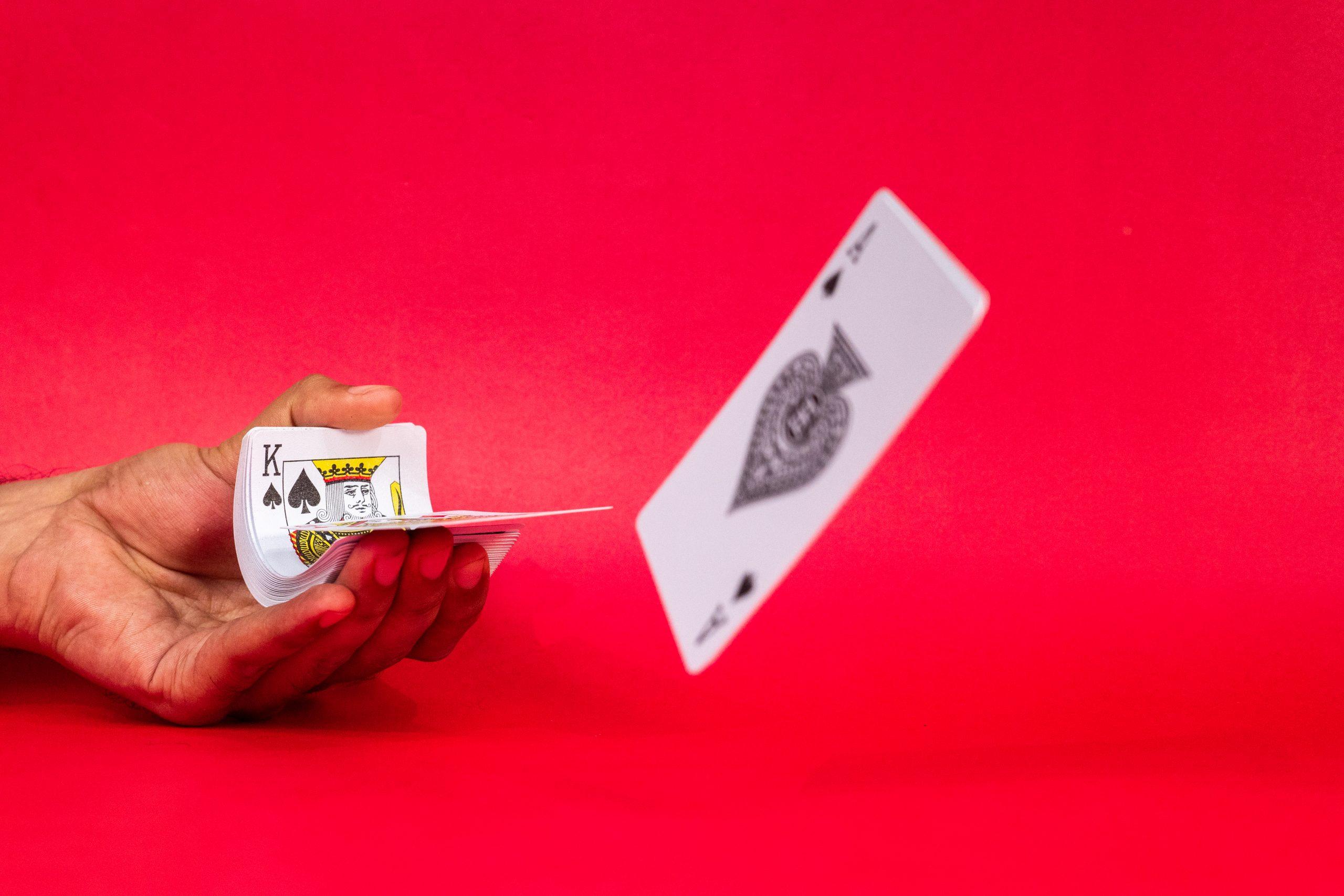 card throwing