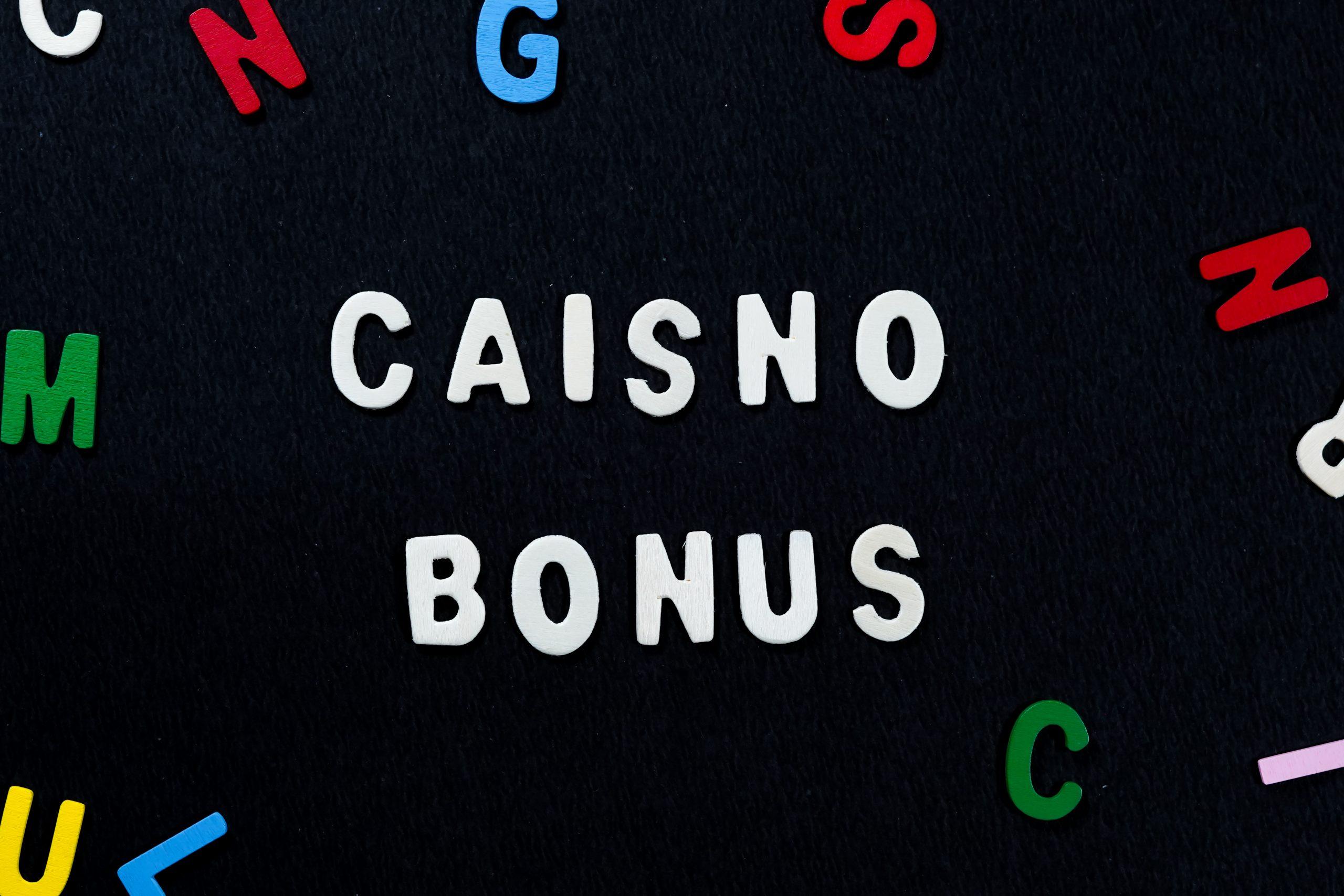 Casino bonus written