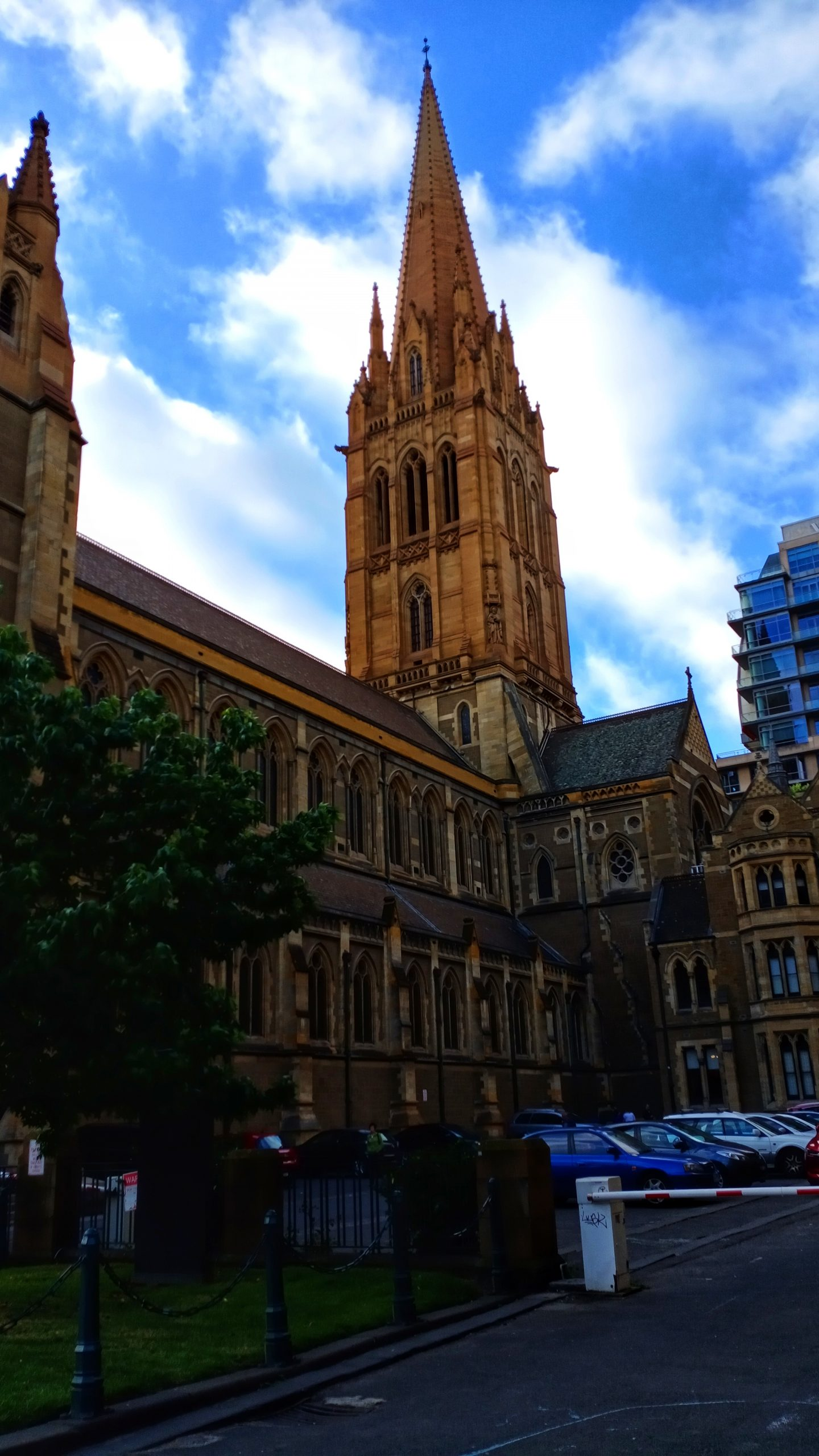 A cathedral church in Australia.
