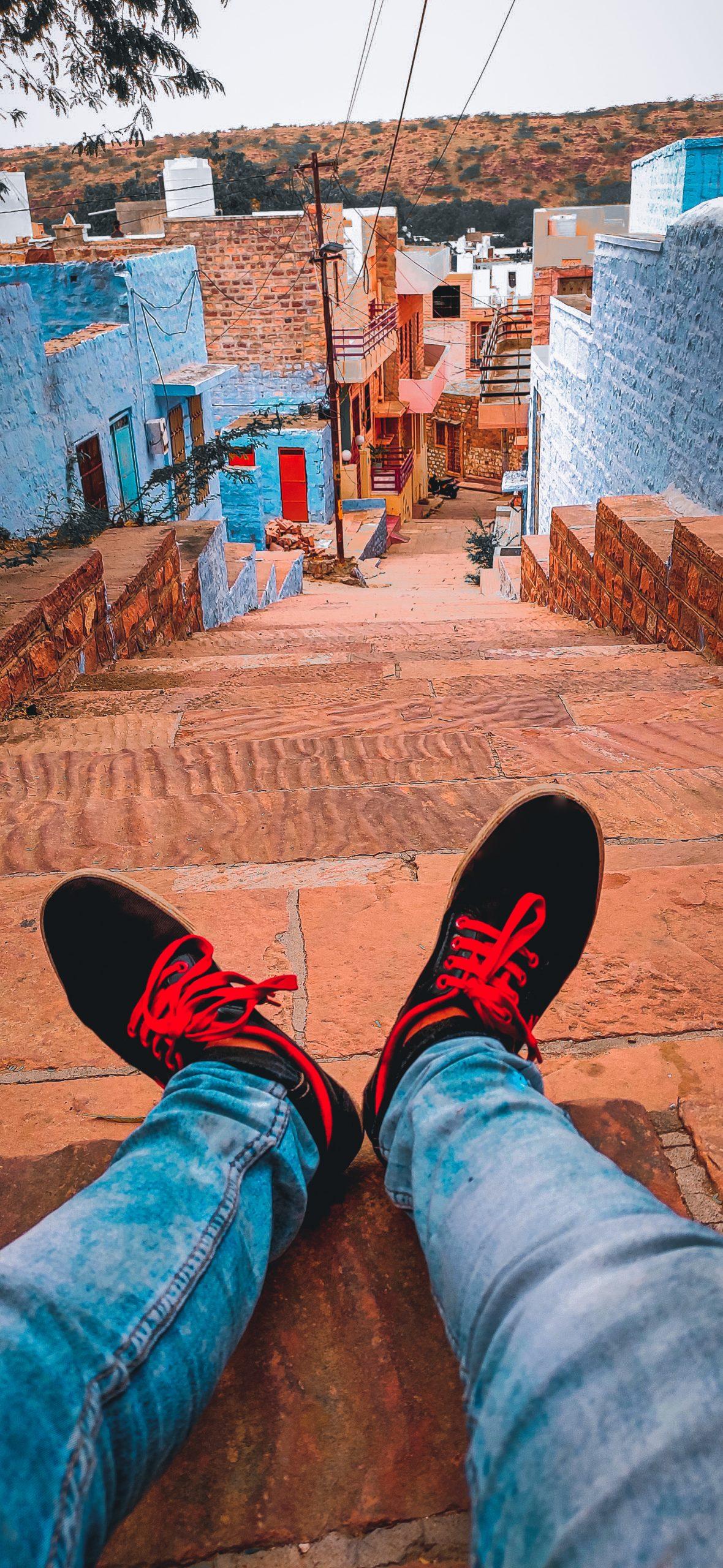 Streets of Chandpole, Jodhpur.