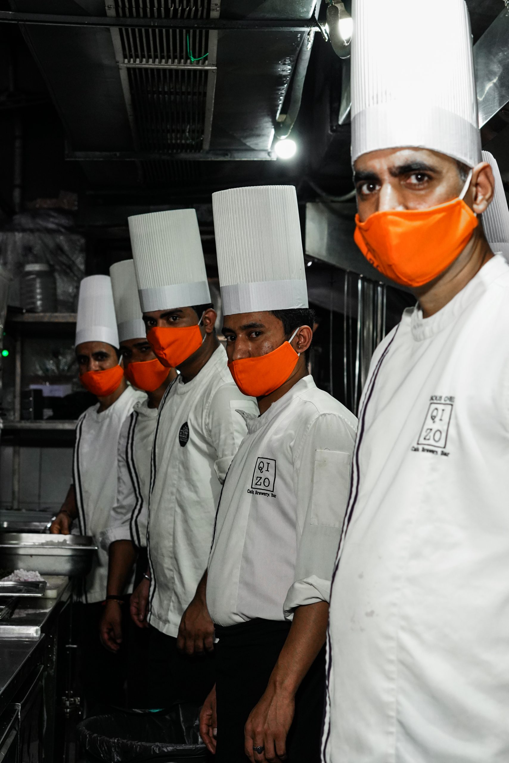 Chefs of an hotel