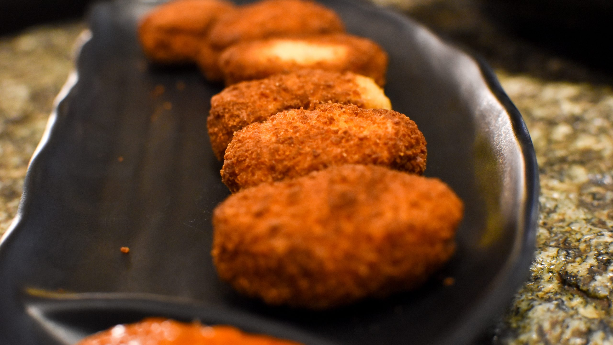 Fried food chicken cuisine