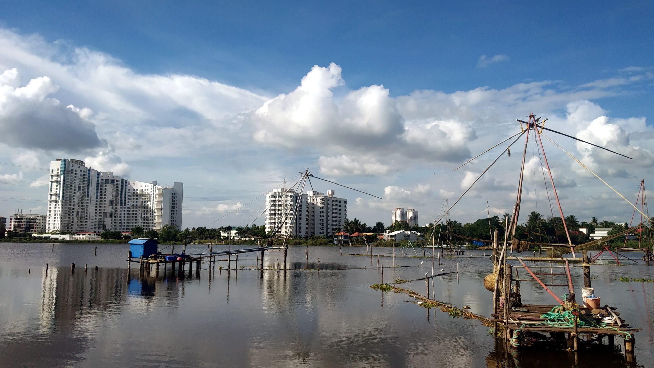 Chilavannor Lake in Kochi