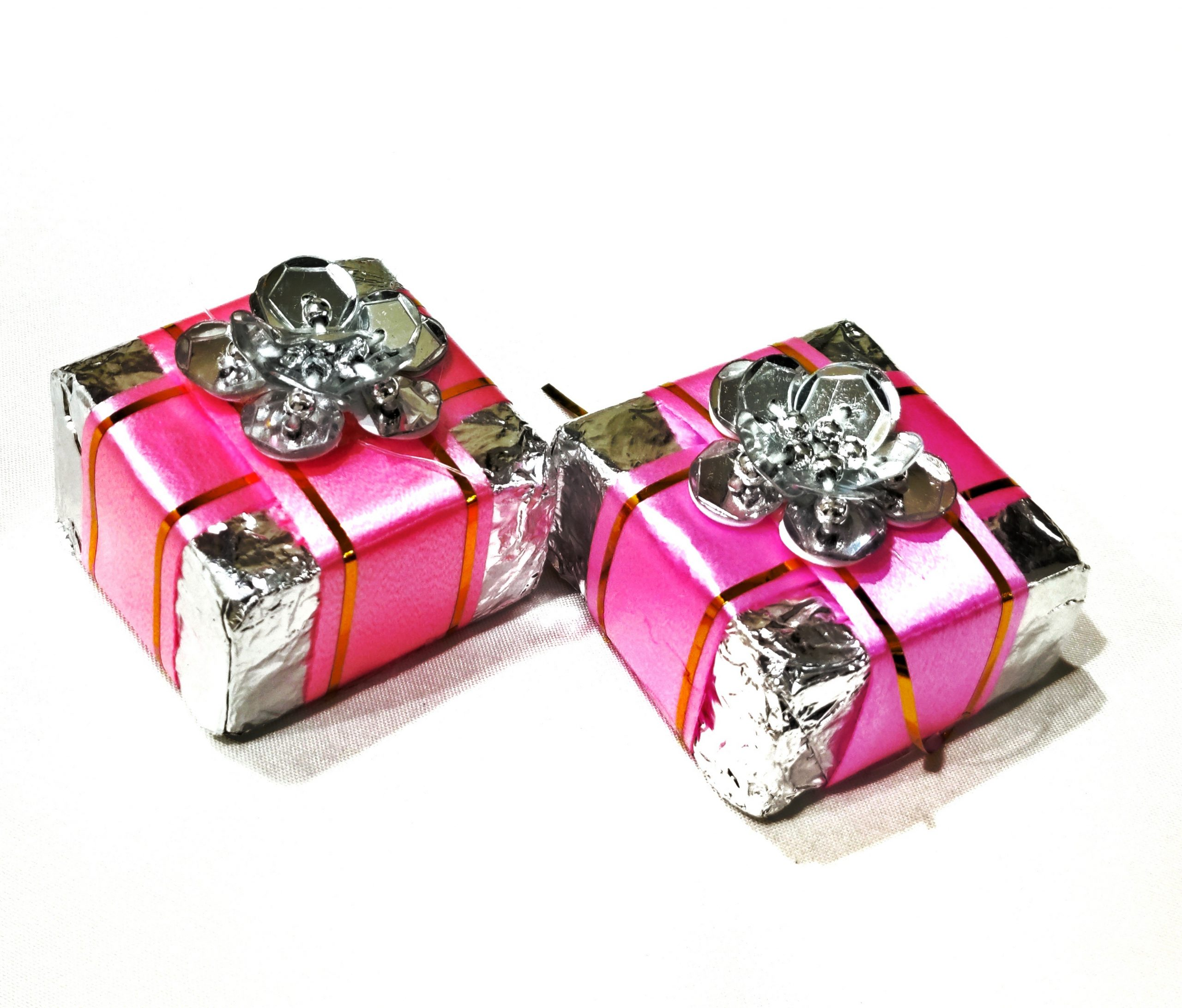 Chocolates in a gift wrap