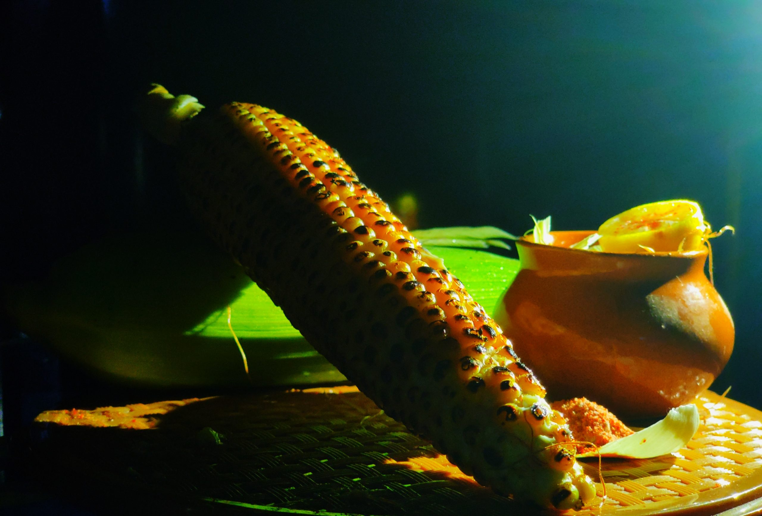 Masala corn maize