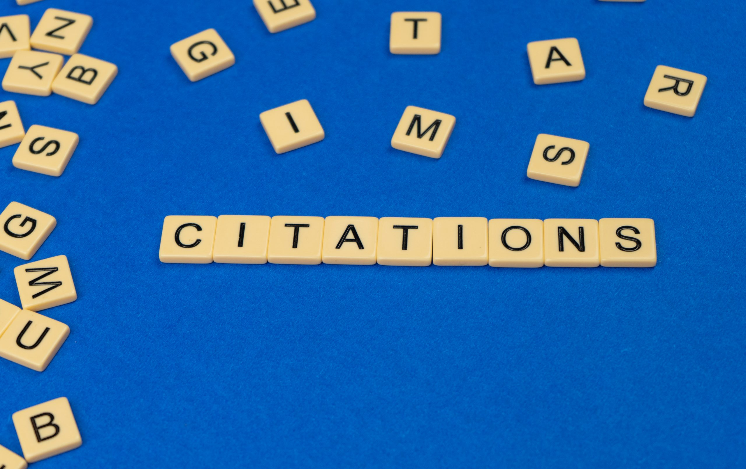 Citations in Word