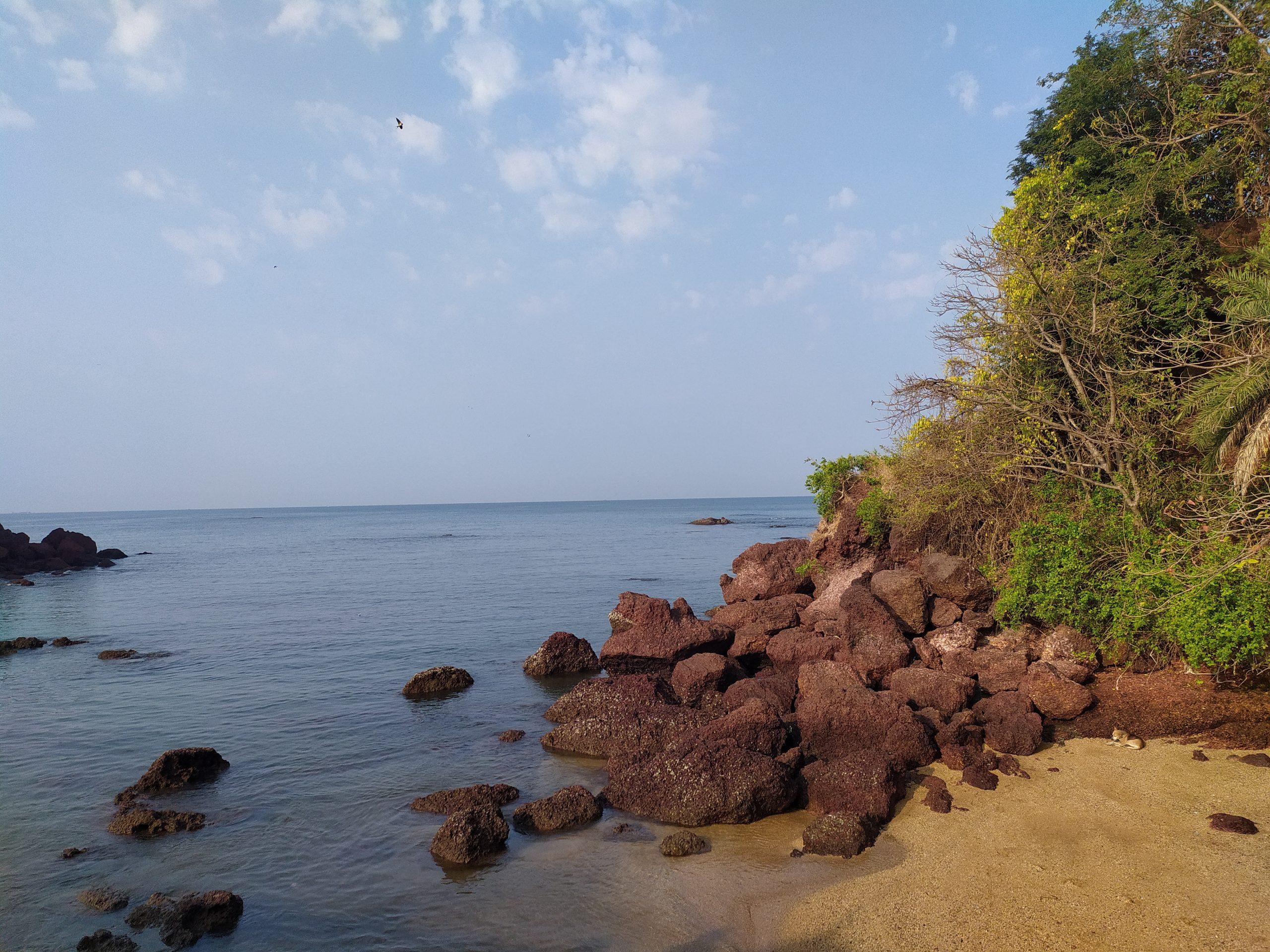 Stunning beach on a sunny day