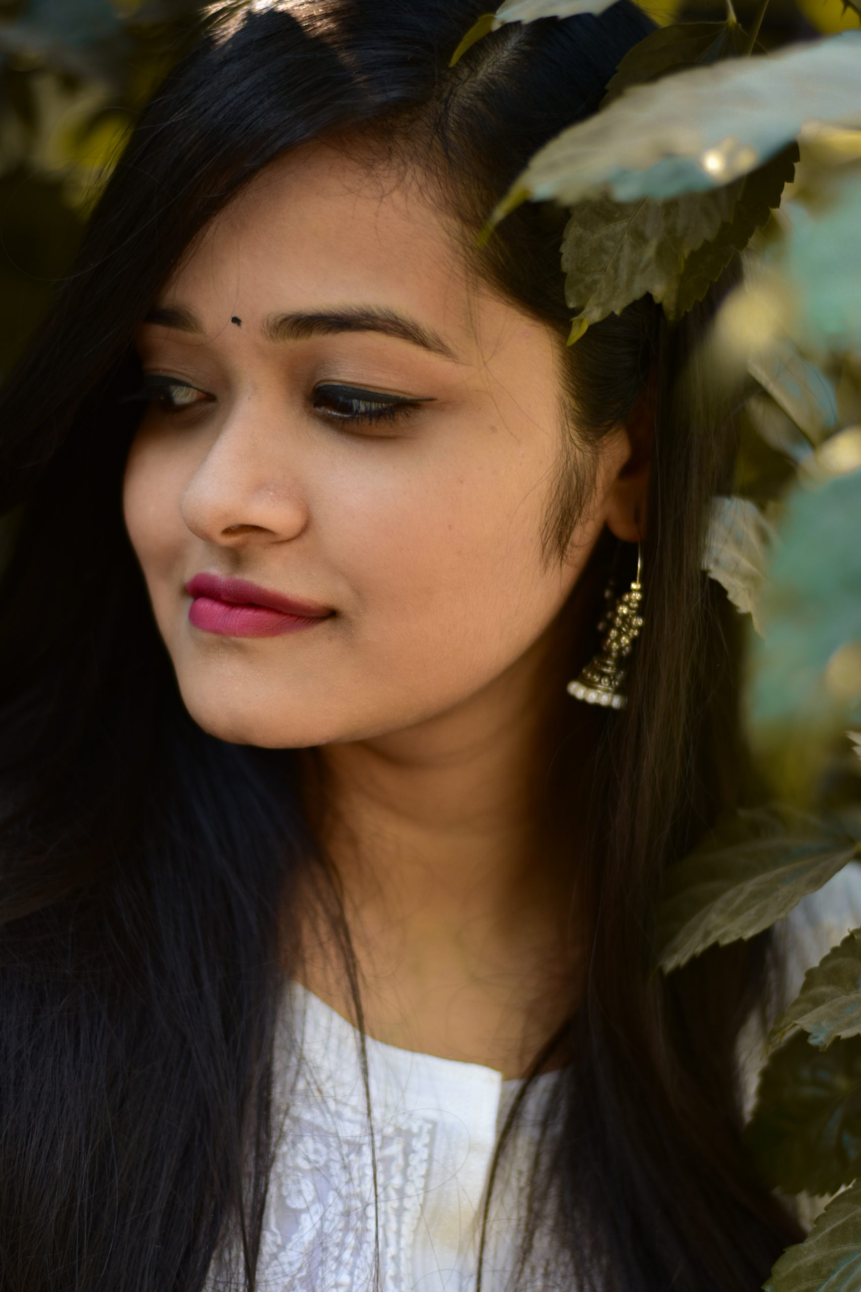 Close-up Shoot of a Girl Face