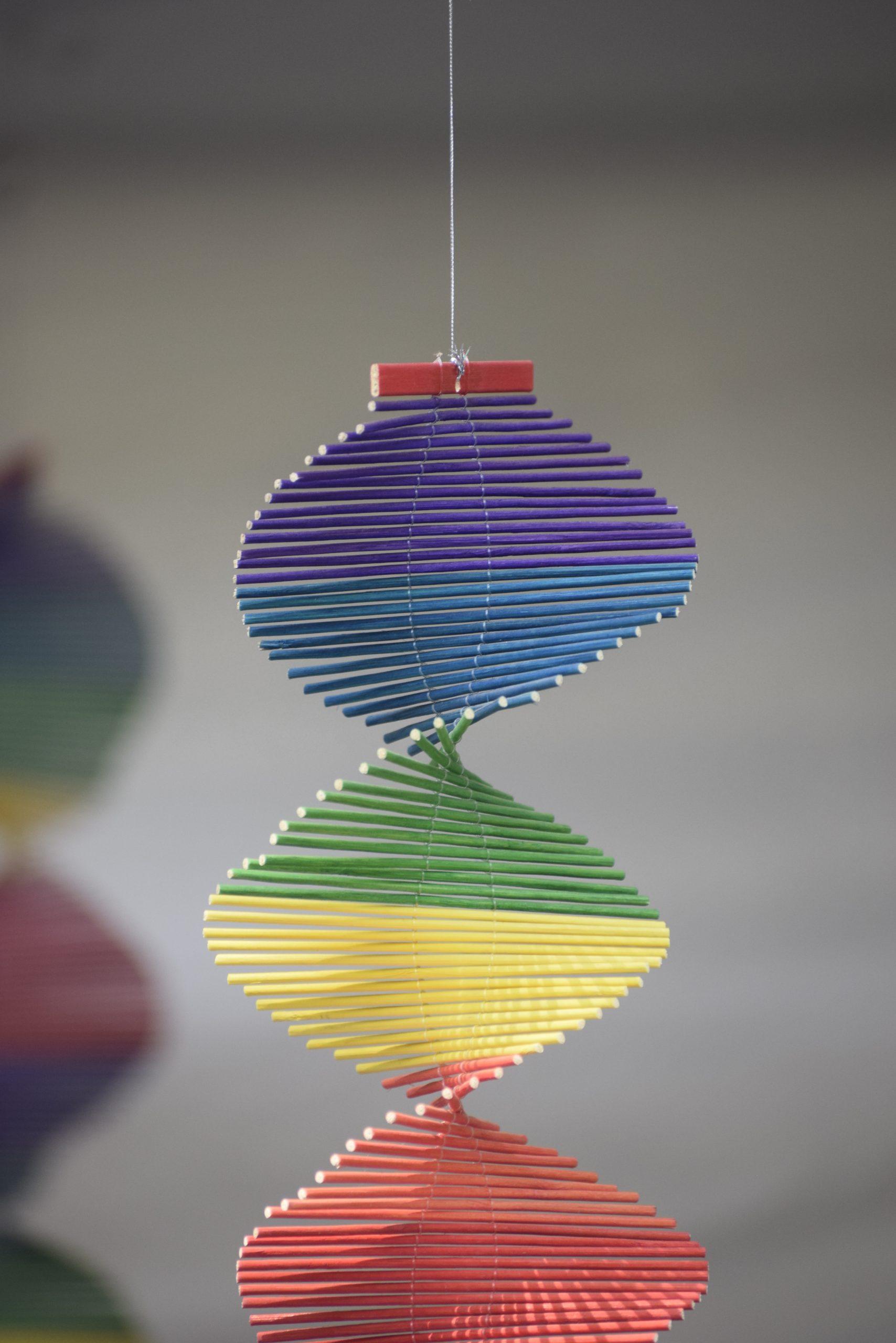 Colorful Decoration on Focus