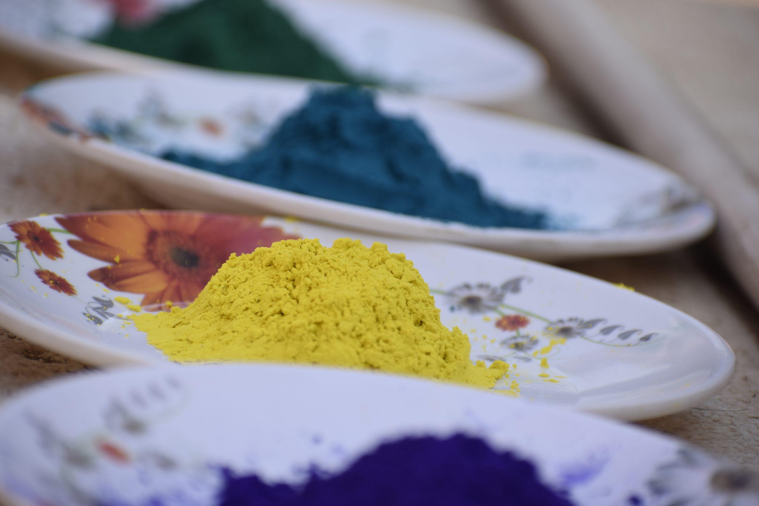 colours for festival