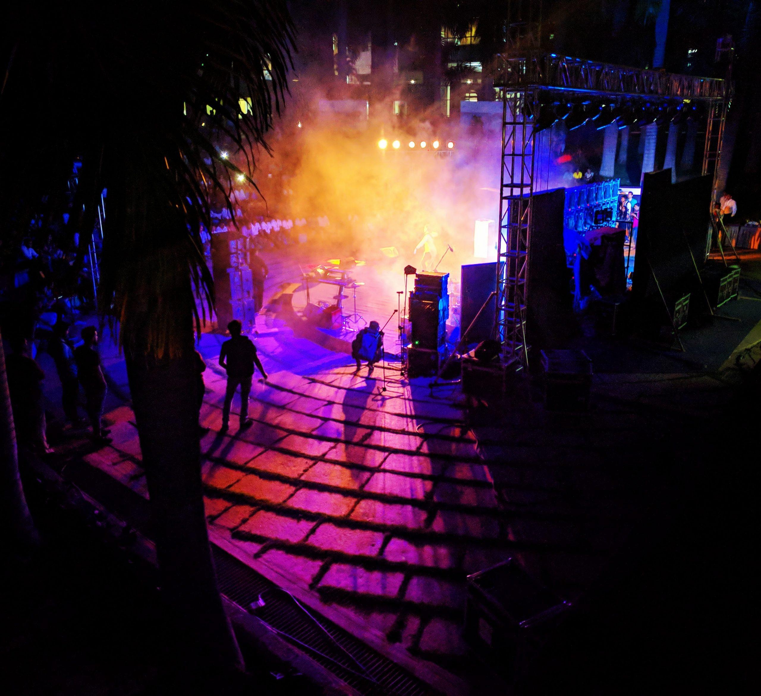 Concert Light Scenery