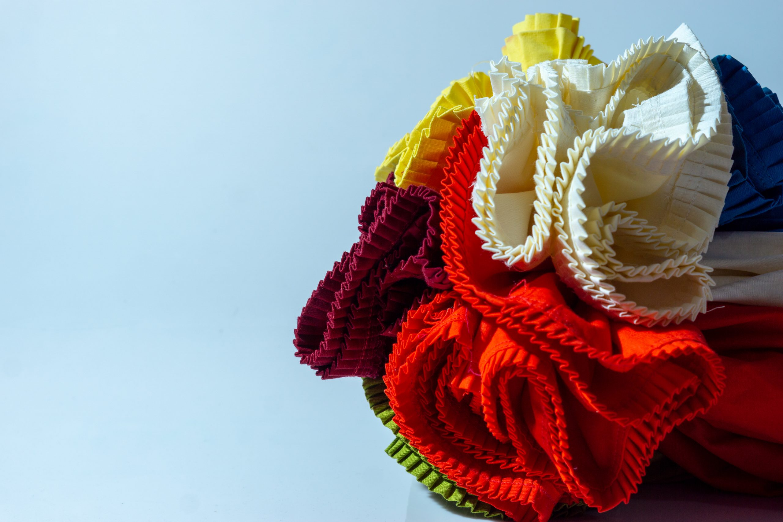 Cotton fabric roll