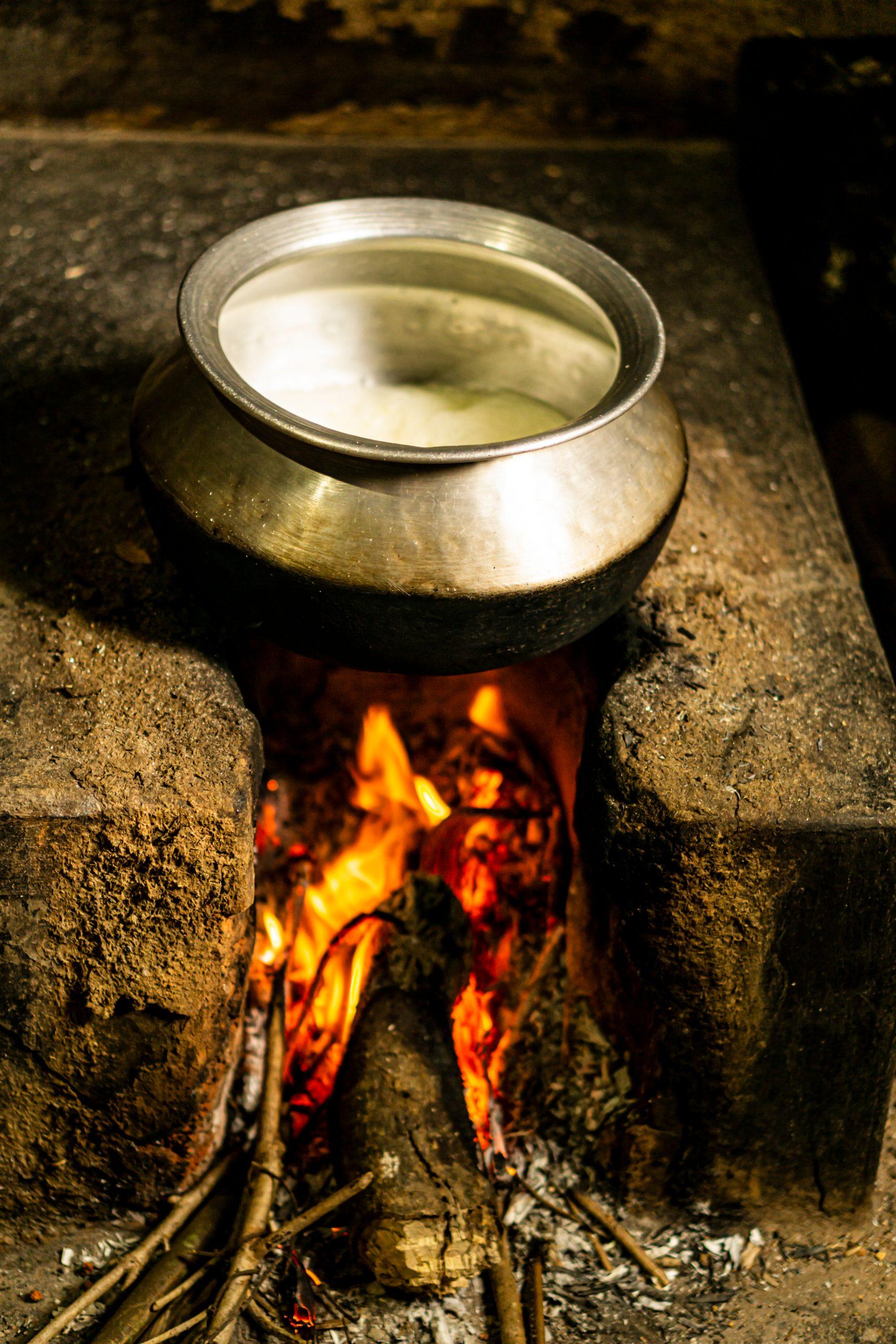 Boiling Milk