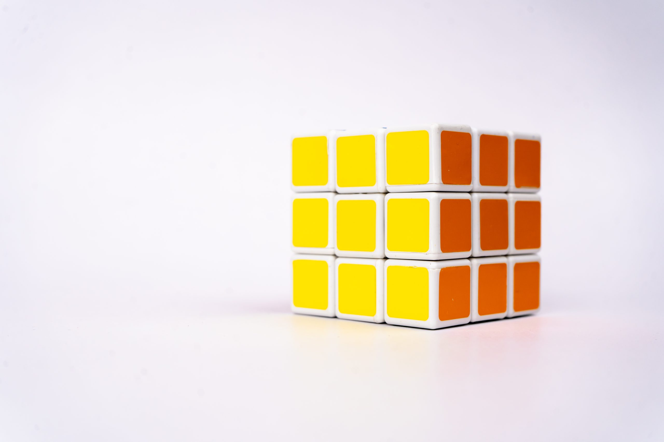 Cube side view