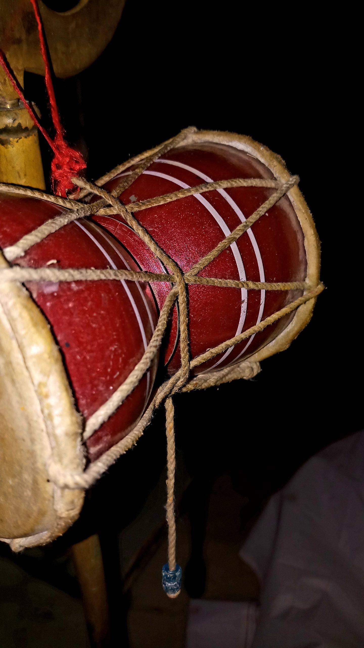 Damaru-A Music drum associated to Lord Shiva