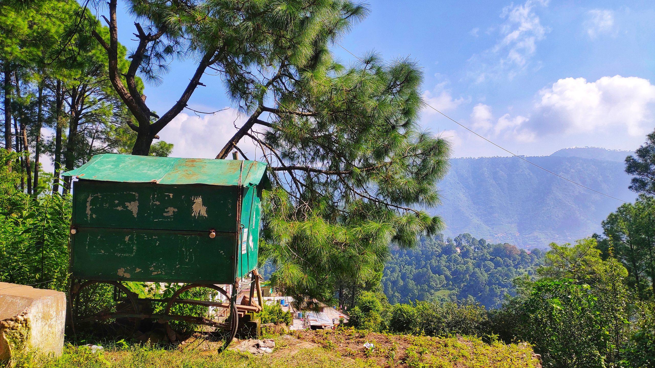 Daytime Mountain Landscape