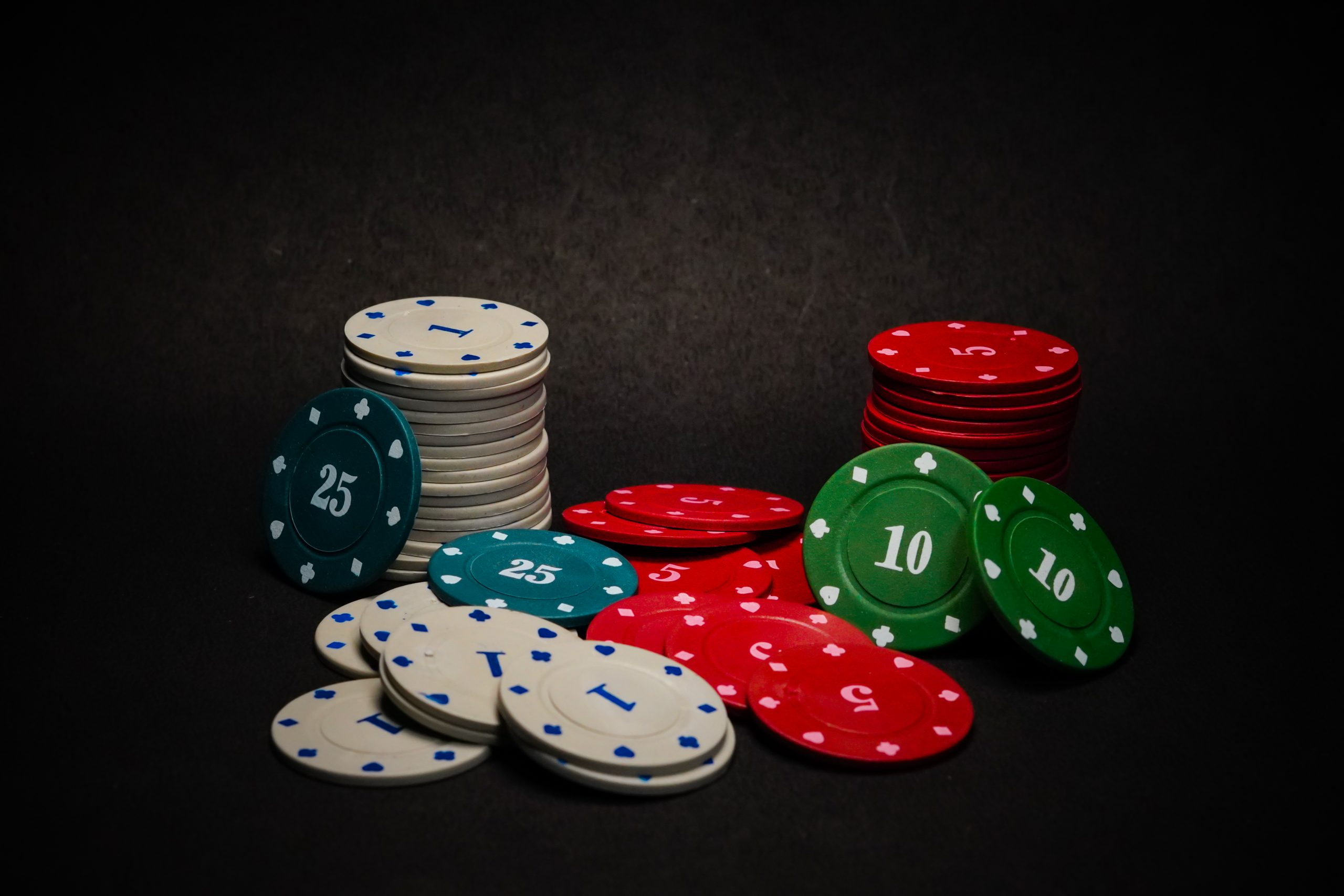 Deck of Poker Chips
