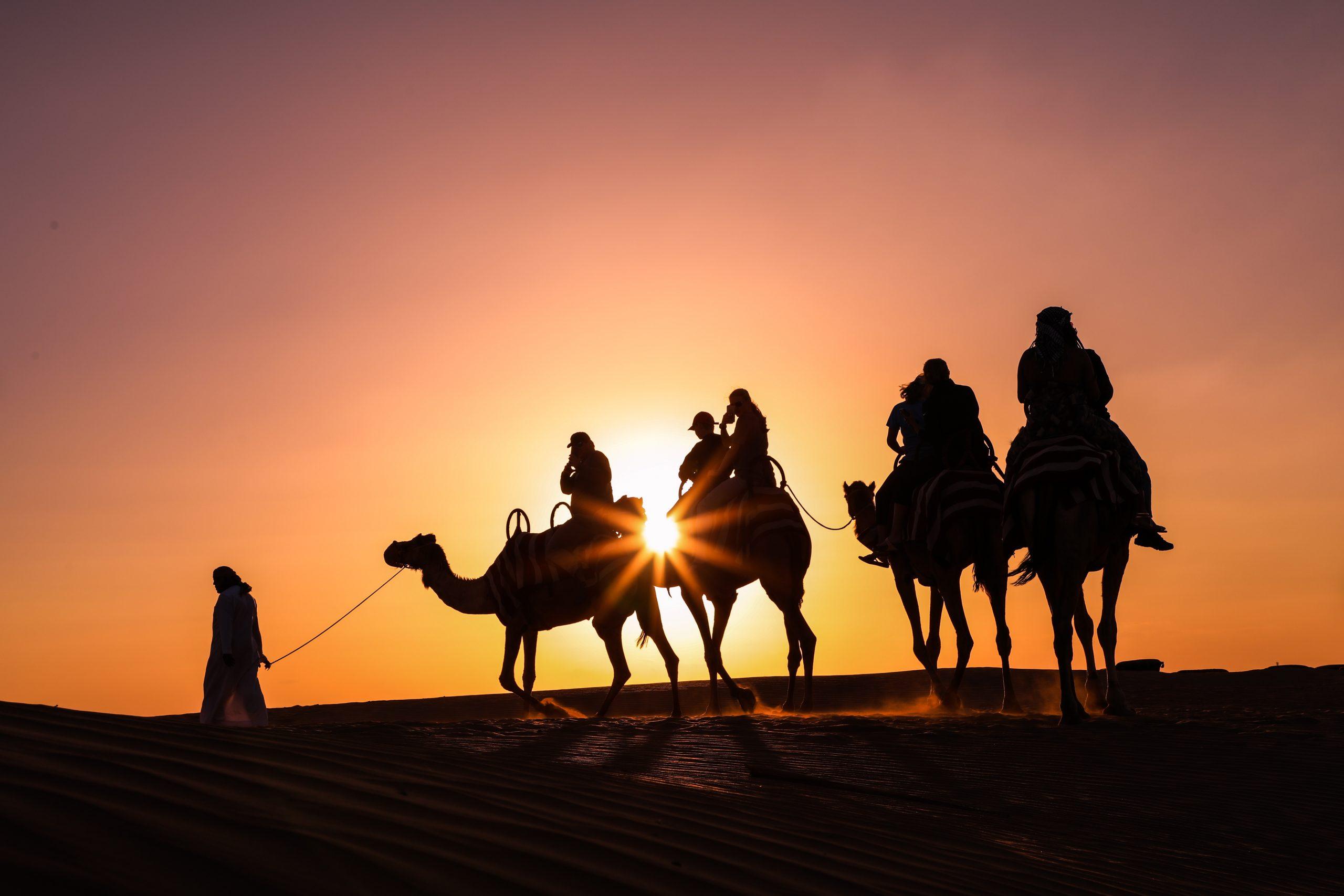 Desert Safari during sunset