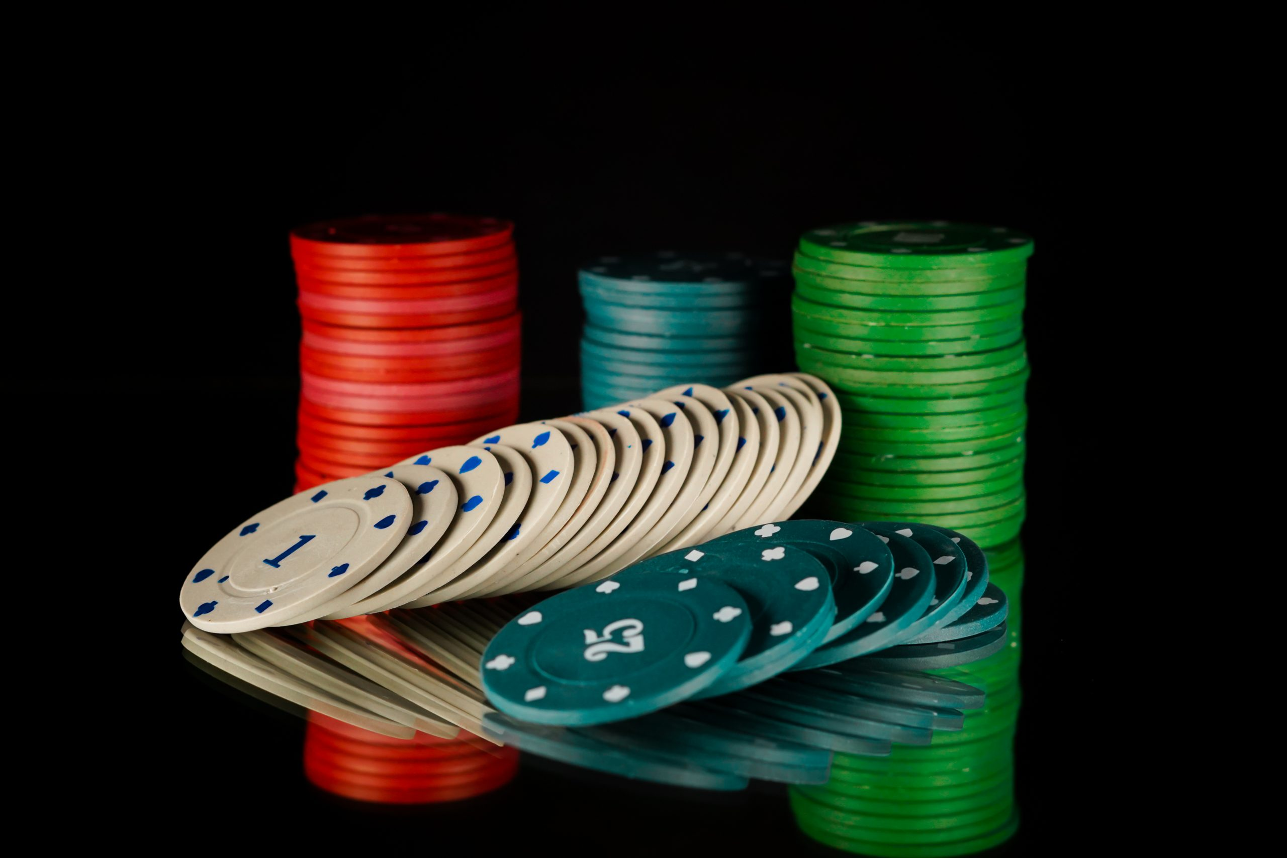Different Colors of Poker