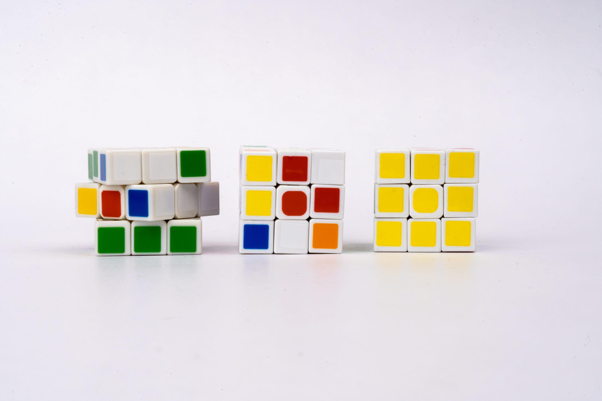 Different Rubik Cubes