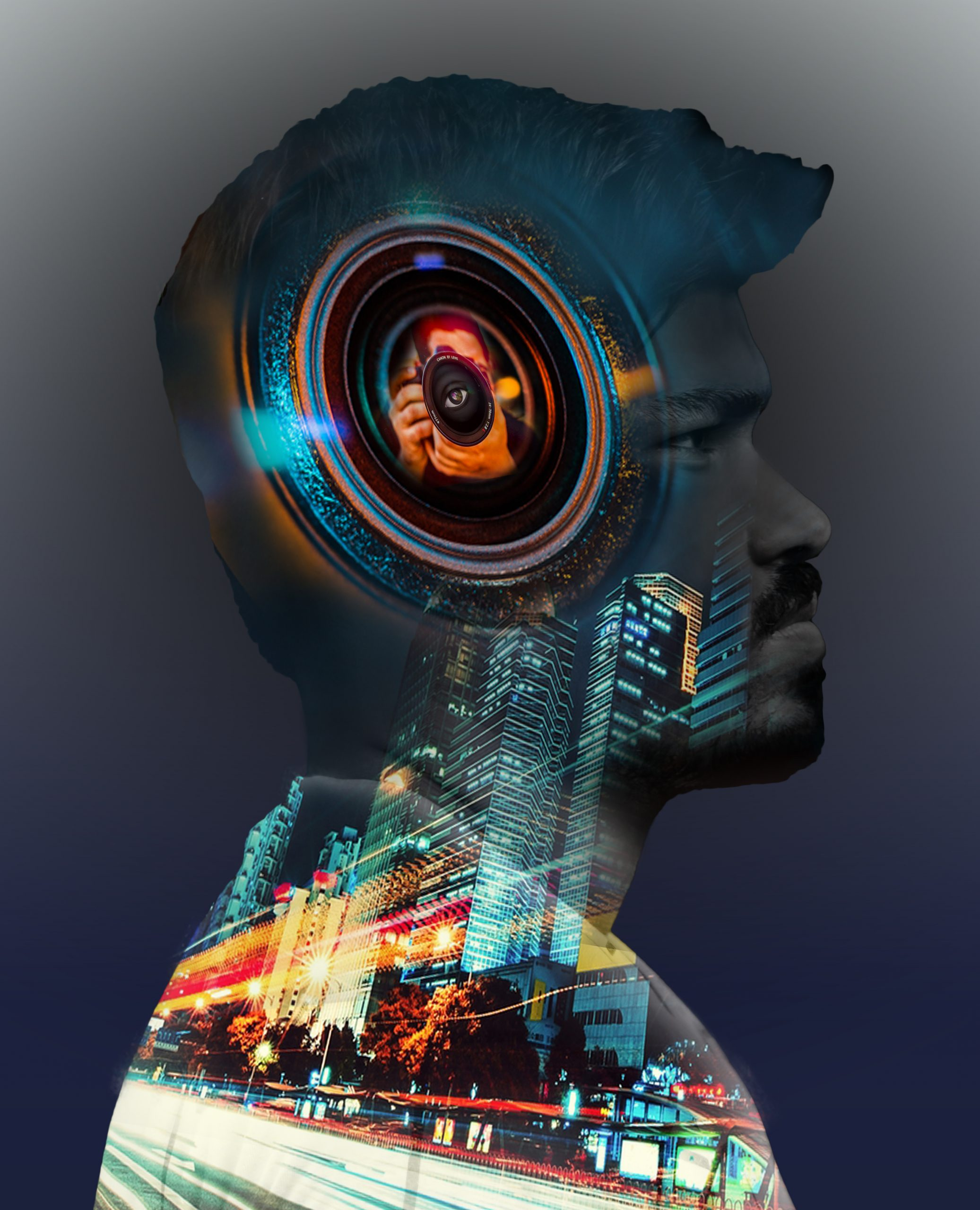 Distortation effect editing