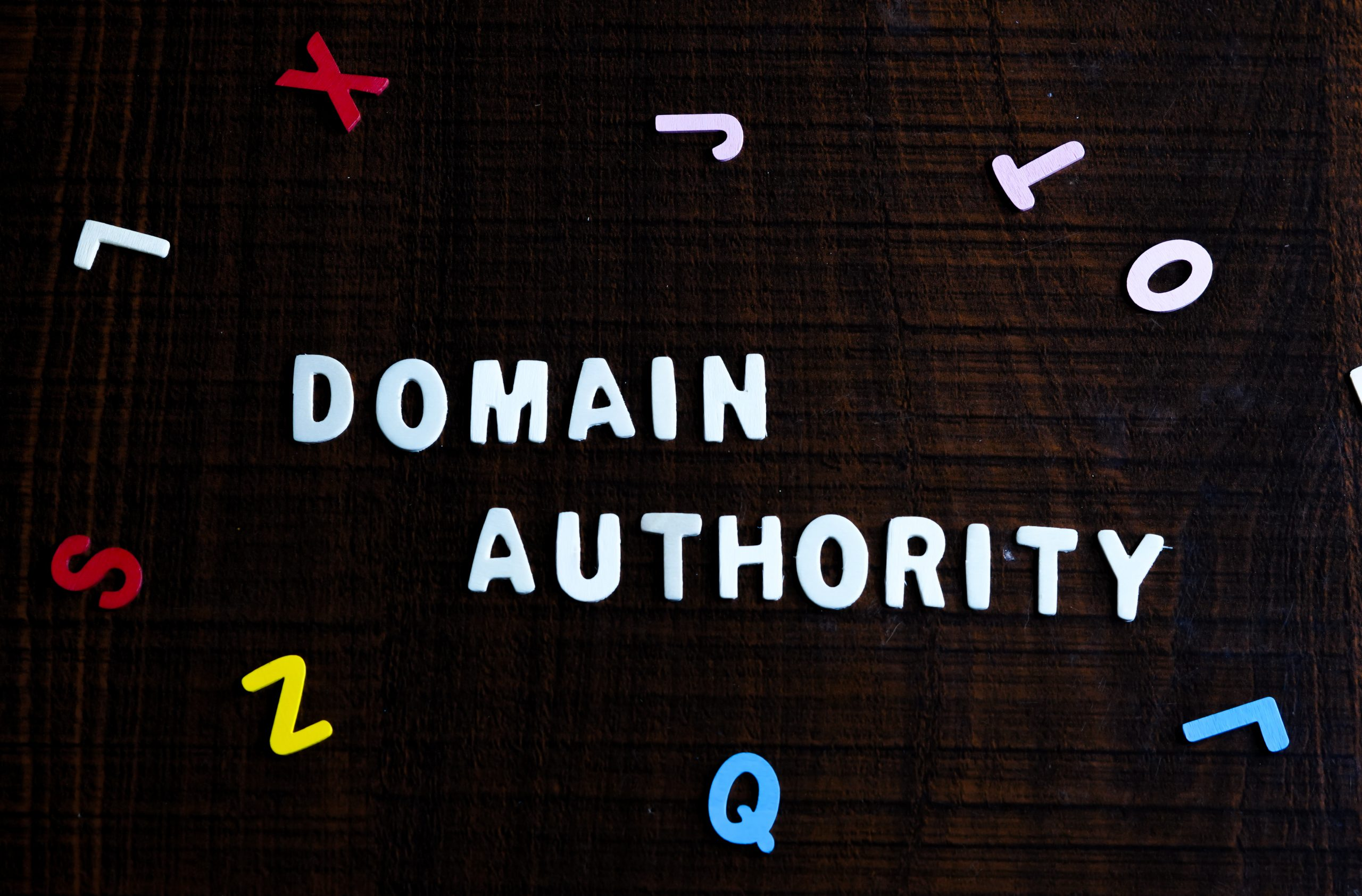 Domain authority for website