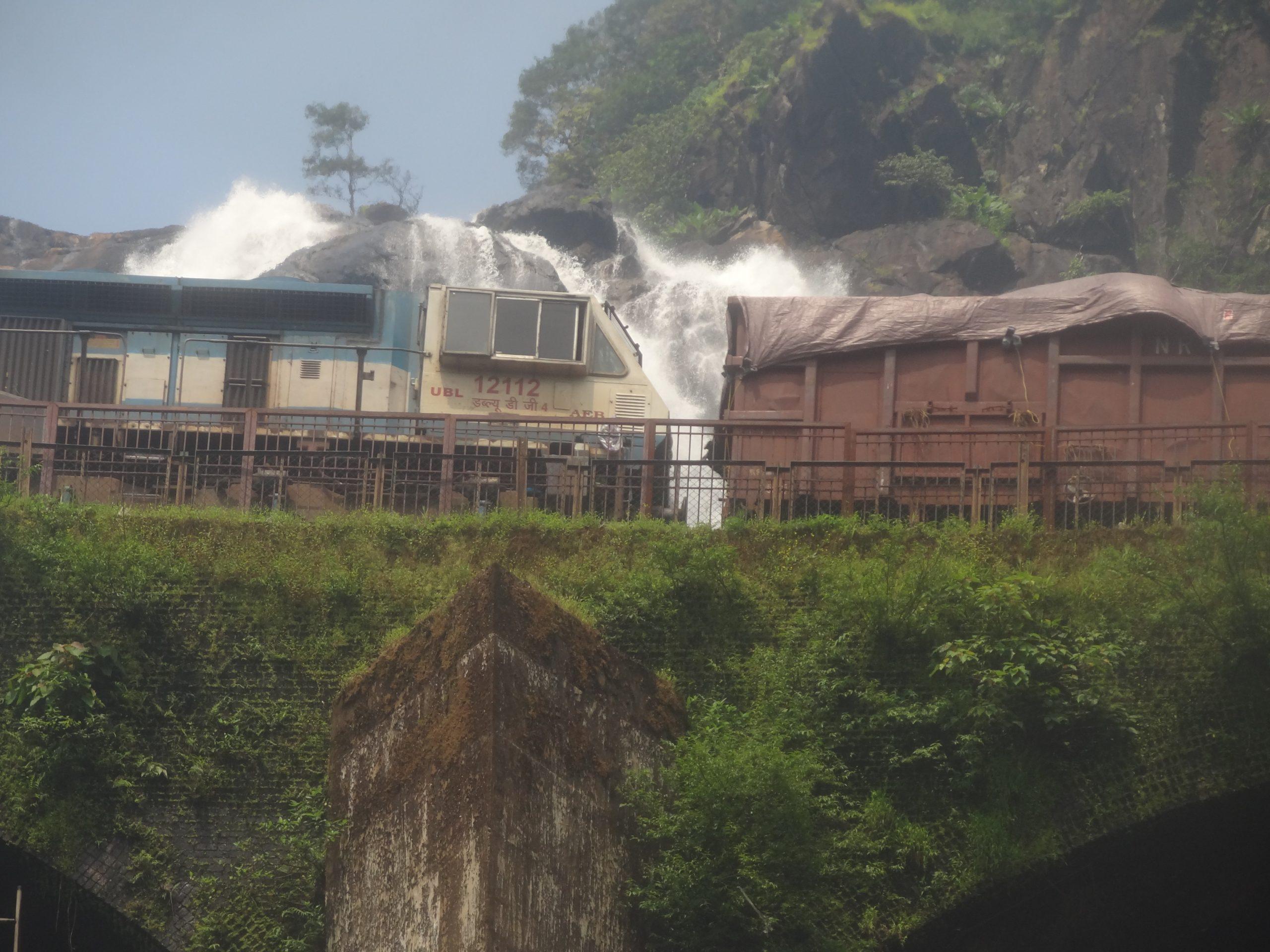 Doodhsagar waterfalls in Goa