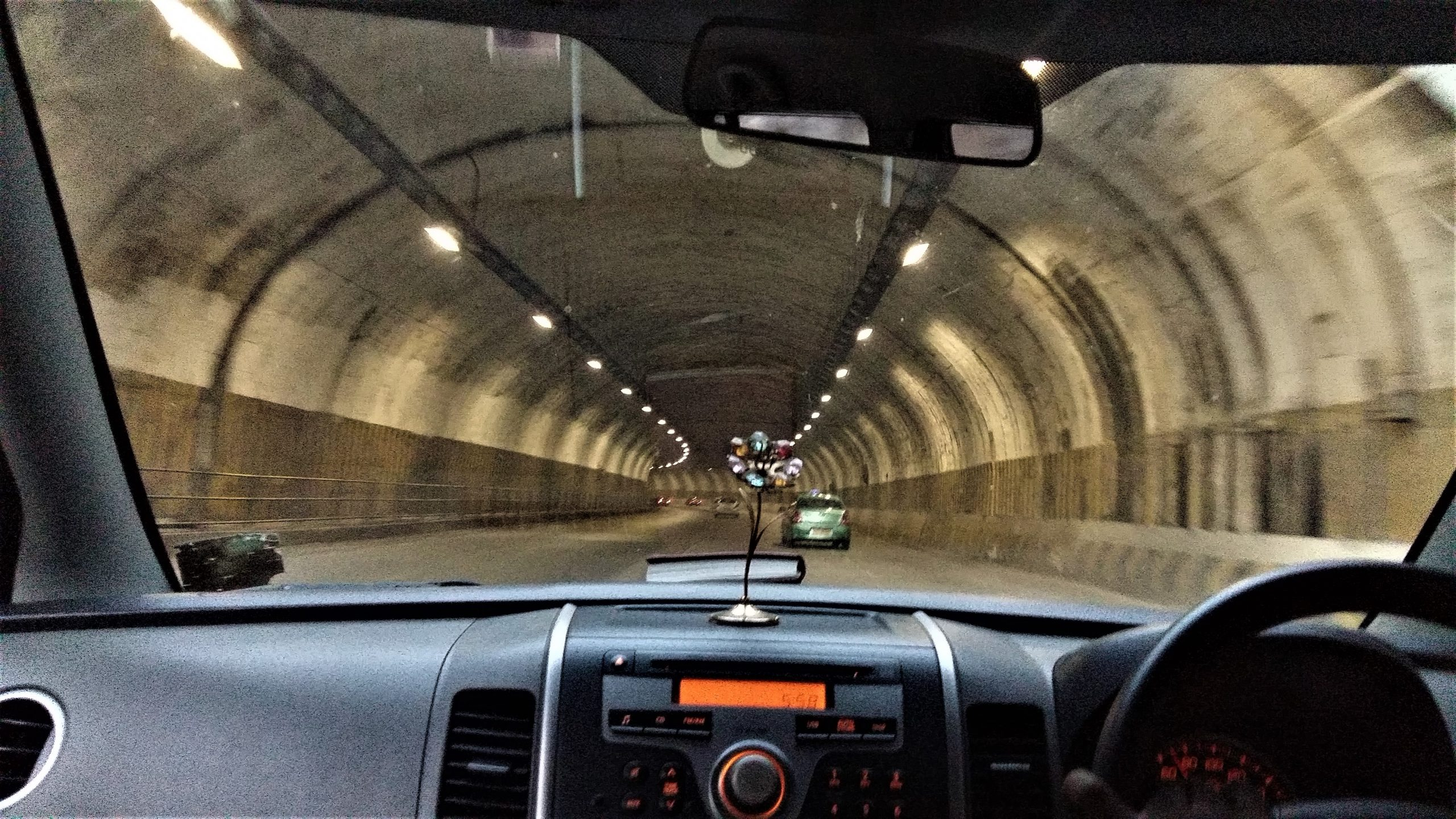 Driving in the Tunnel