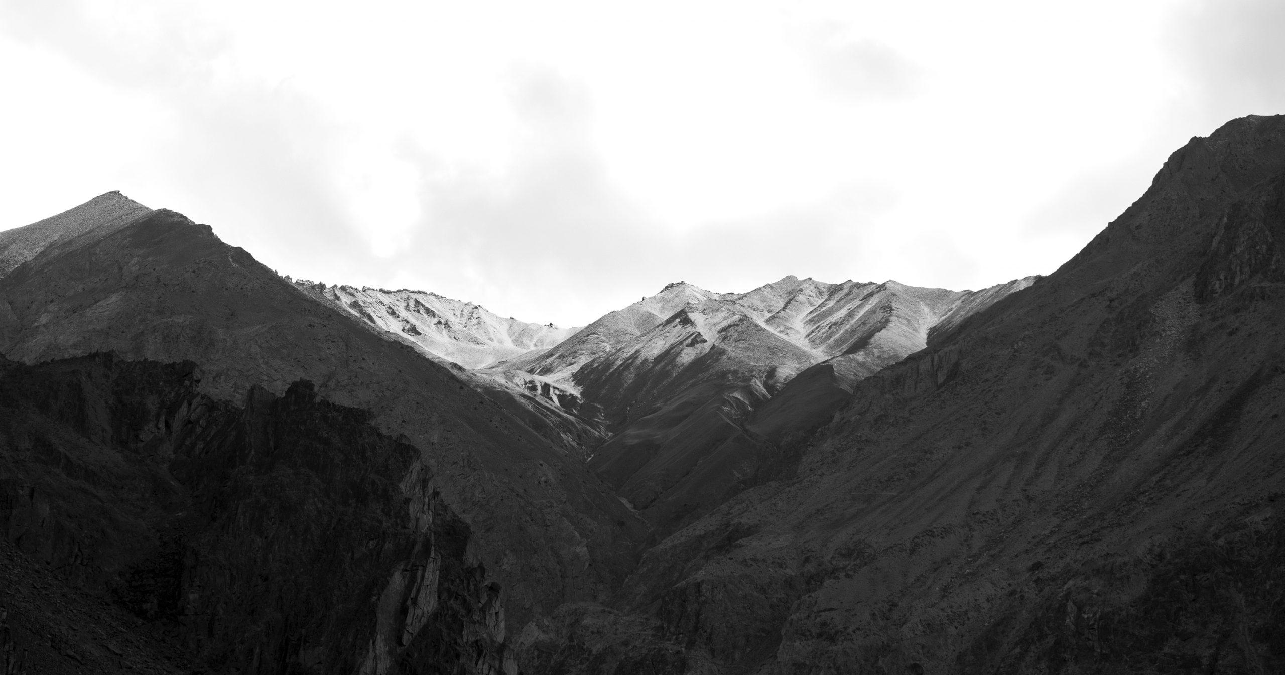 Dry mountains of Leh Ladakh