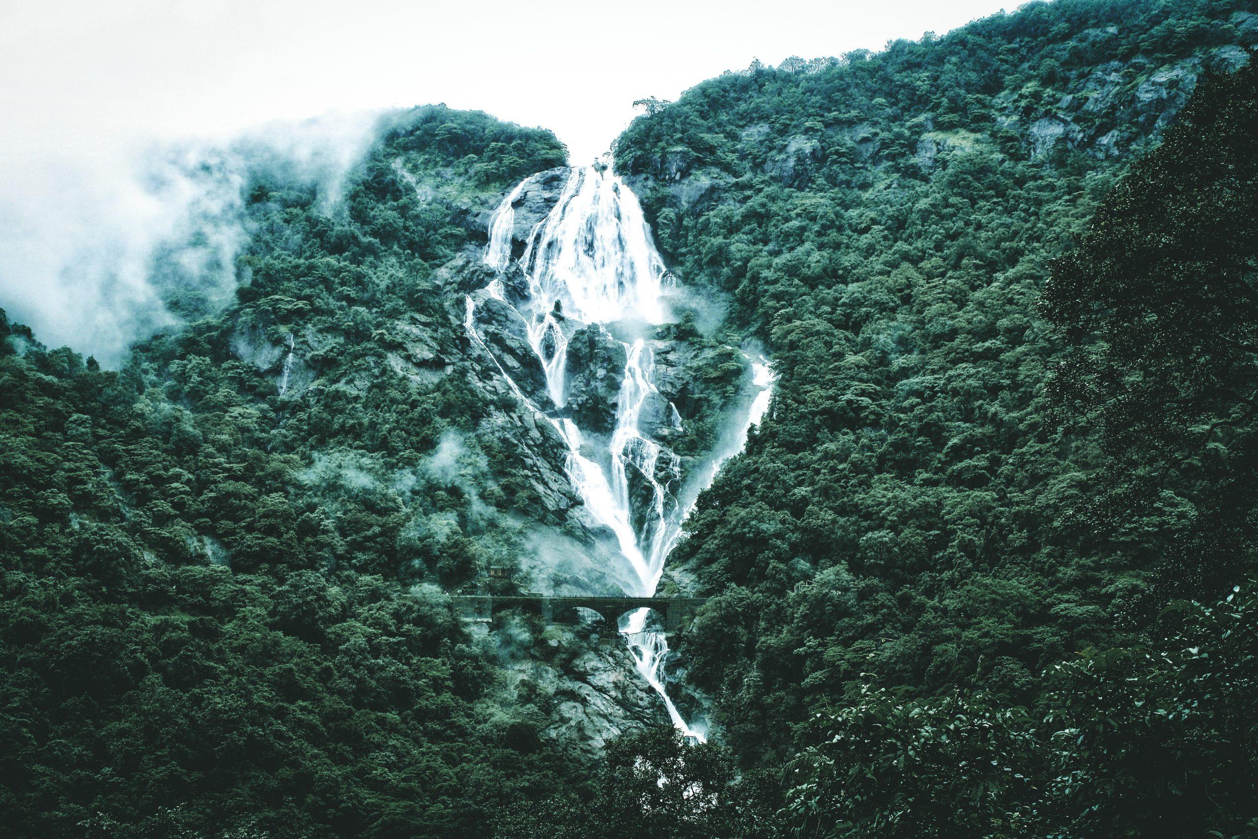 Goa Dudhsagar waterfall