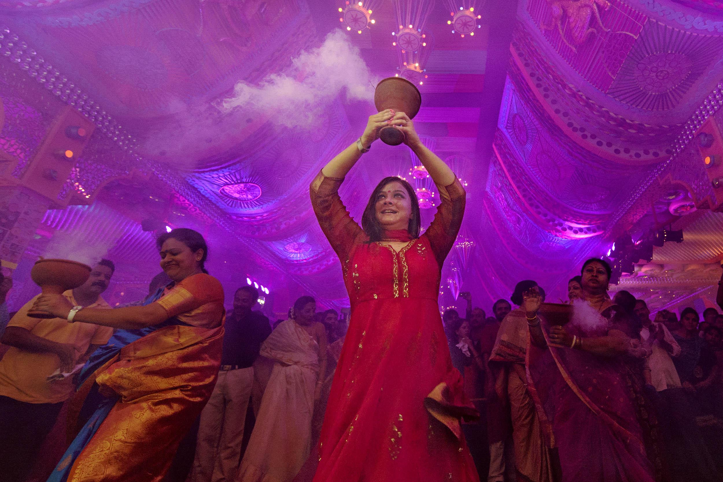 Durga Puja Celebration in New Delhi