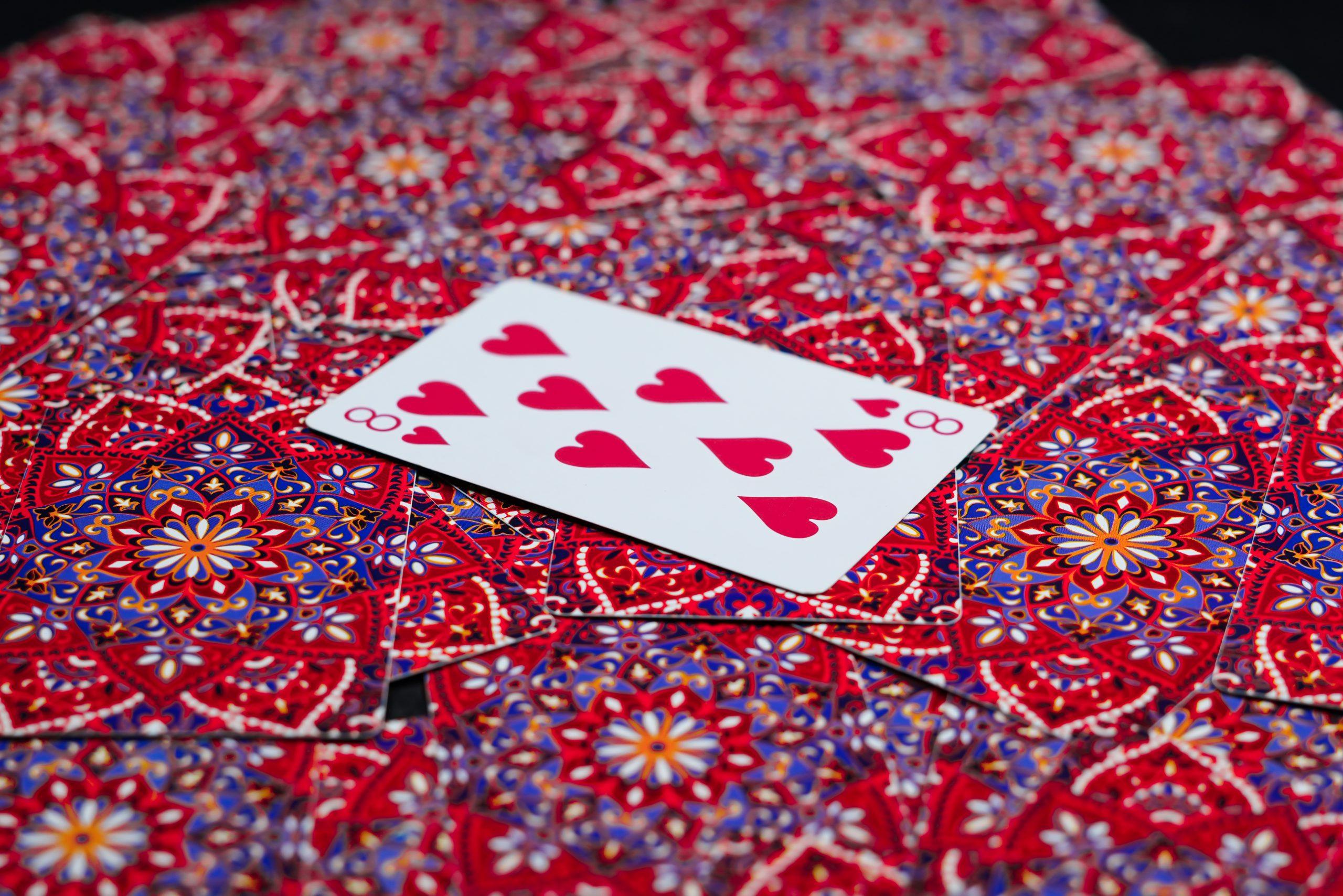 Eight of heart