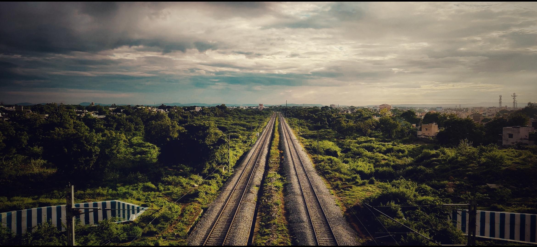 Endless Railway tracks