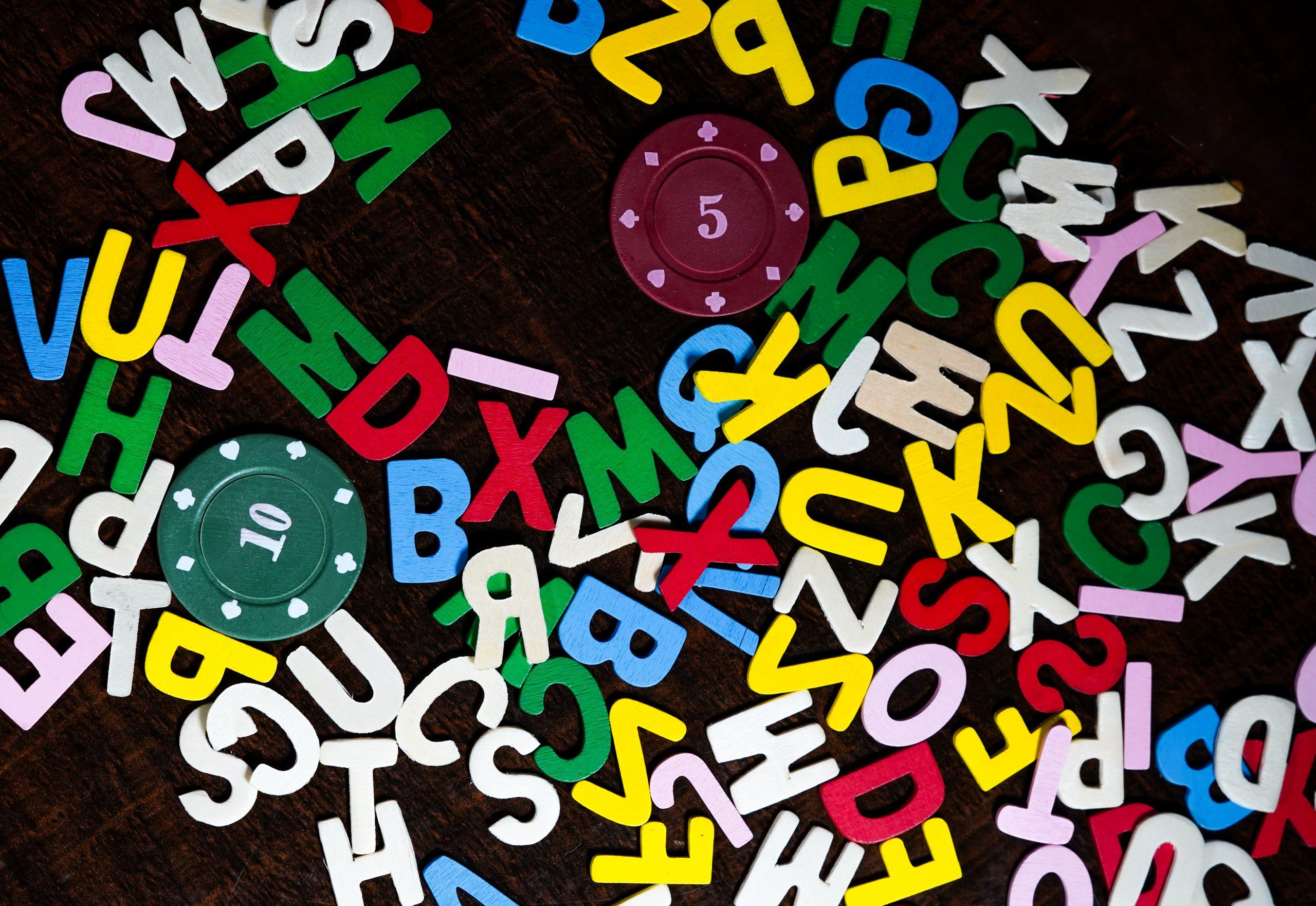 English language Alphabets
