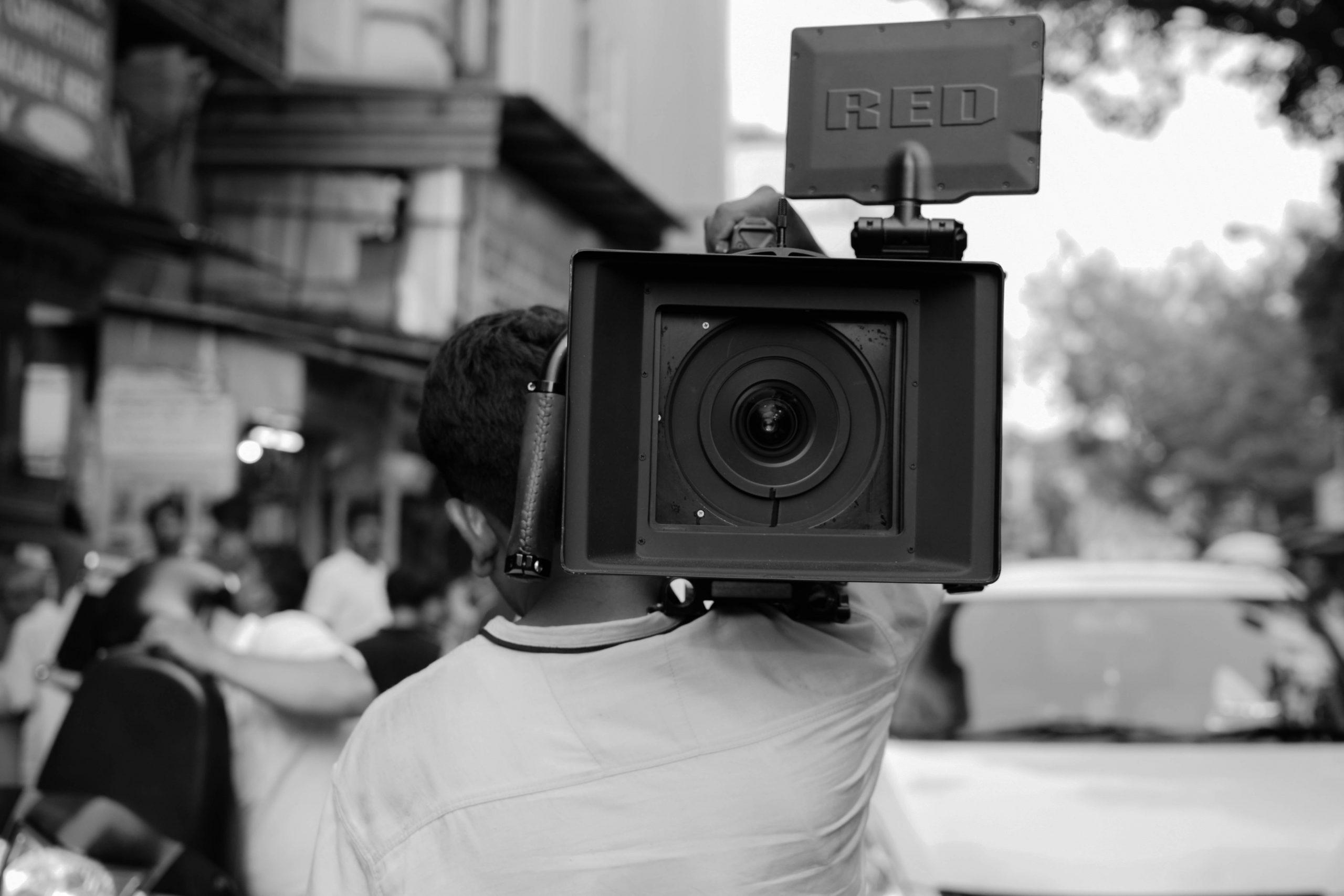 A film making camera
